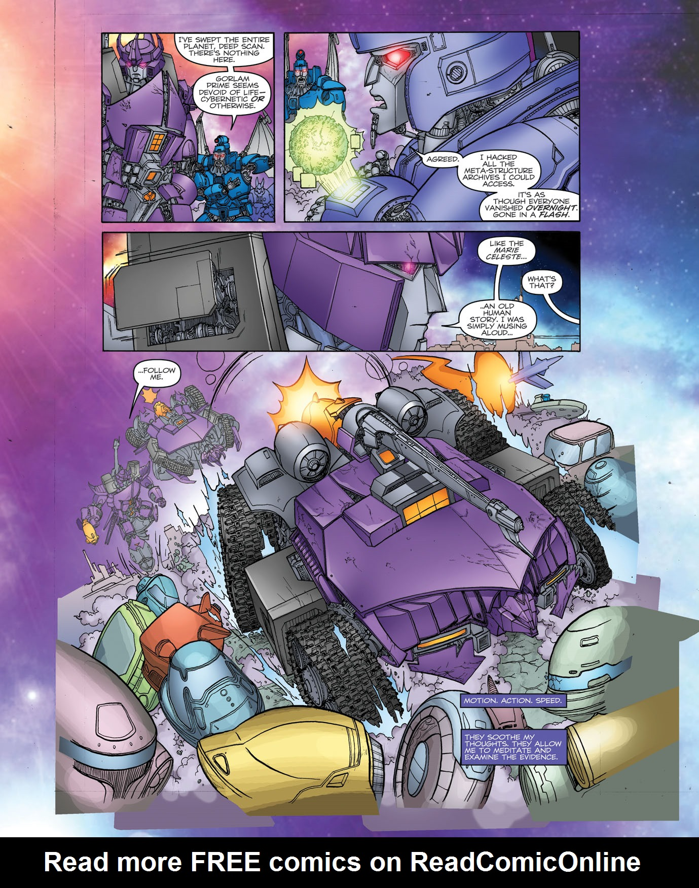 Read online Transformers: Heart of Darkness comic -  Issue #1 - 9