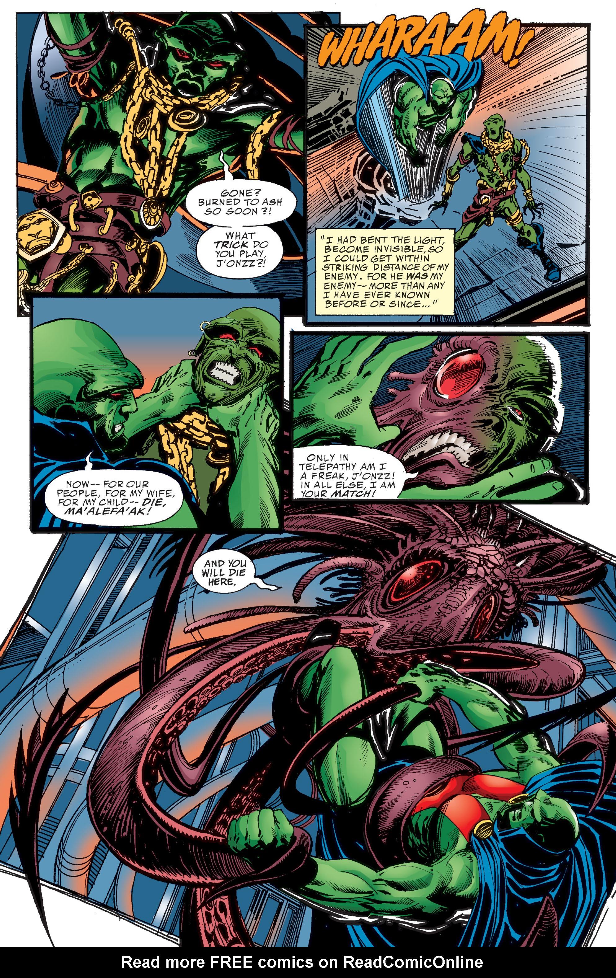 Read online Martian Manhunter: Son of Mars comic -  Issue # TPB - 16
