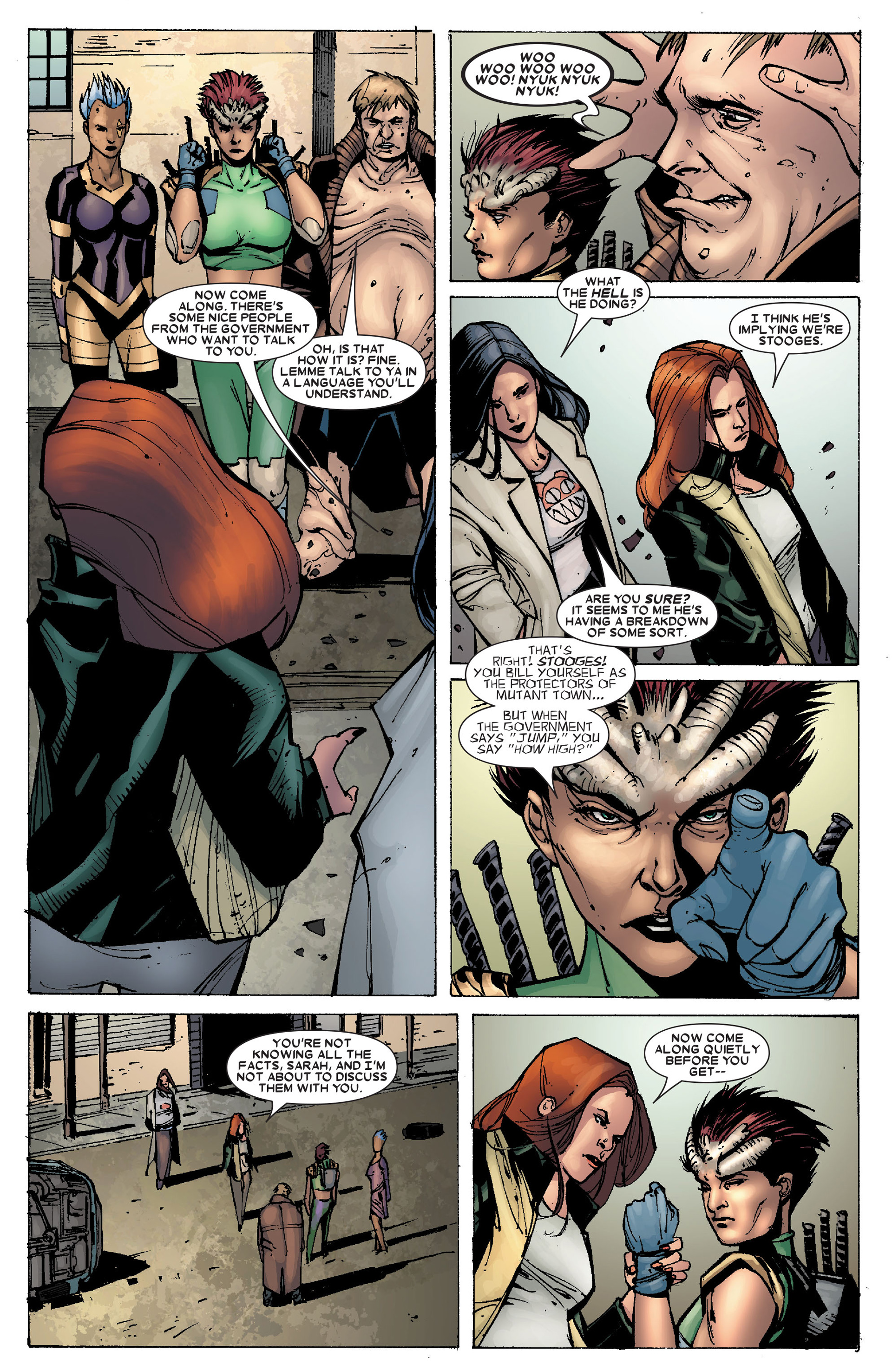 Read online X-Factor (2006) comic -  Issue #19 - 8