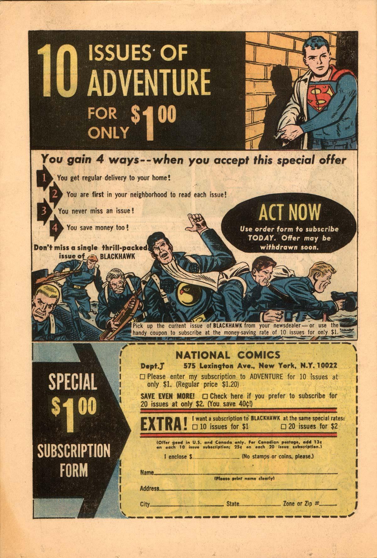 Read online Adventure Comics (1938) comic -  Issue #332 - 34
