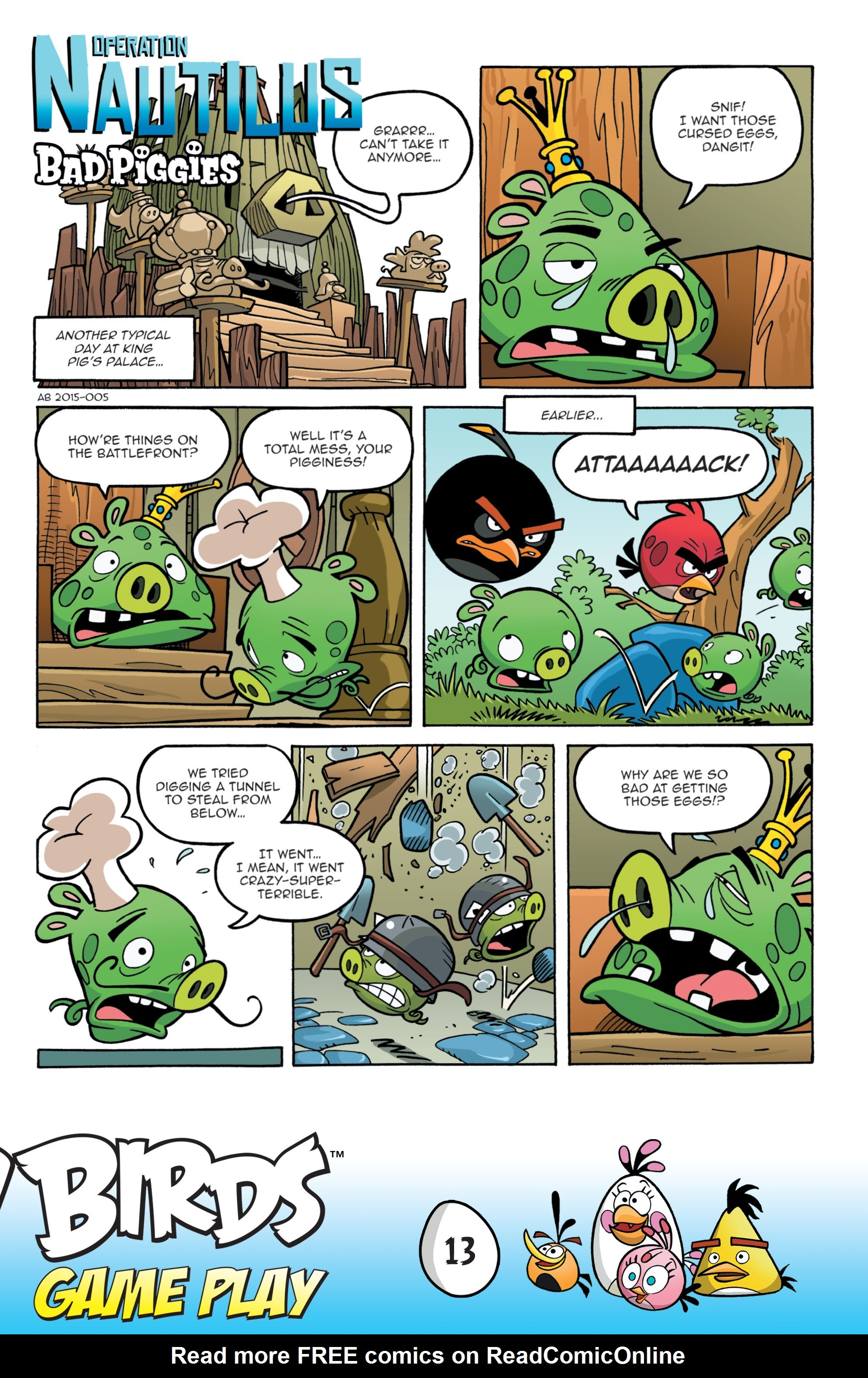 Read online Angry Birds Comics: Game Play comic -  Issue #1 - 15