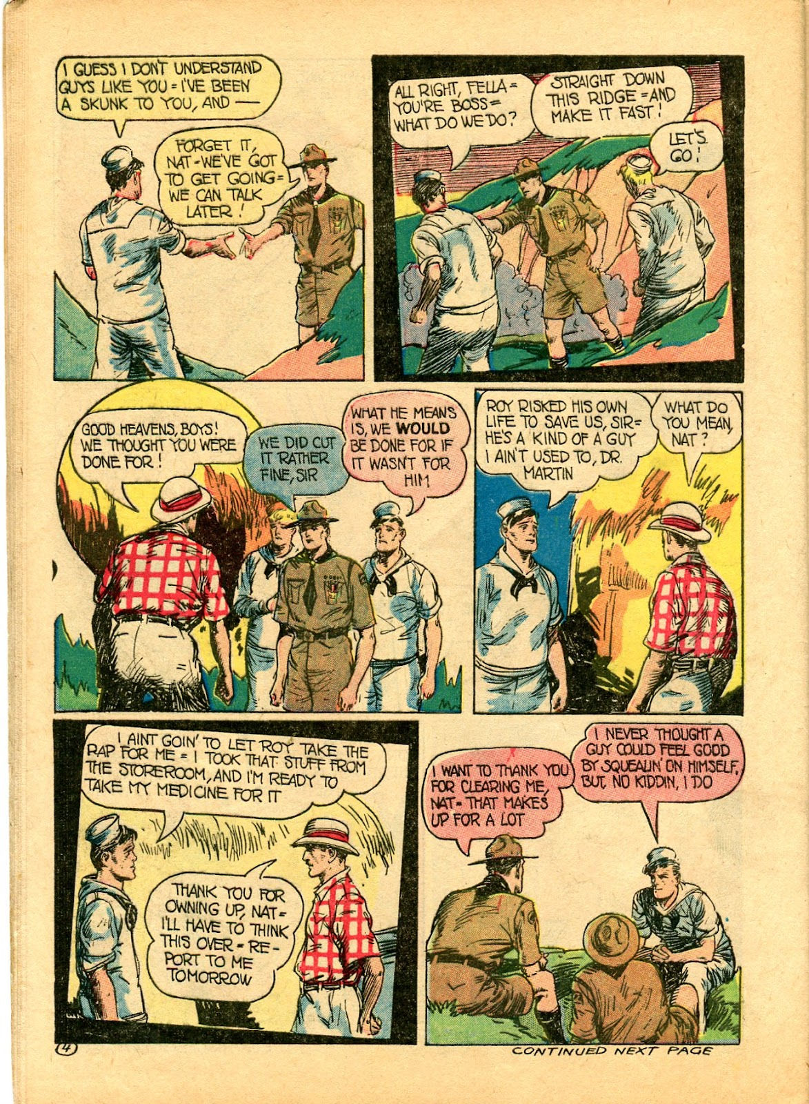 Read online Famous Funnies comic -  Issue #102 - 54