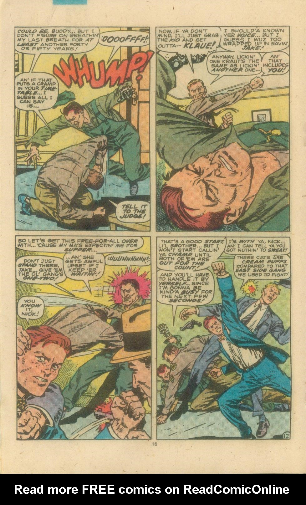 Read online Sgt. Fury comic -  Issue #162 - 18