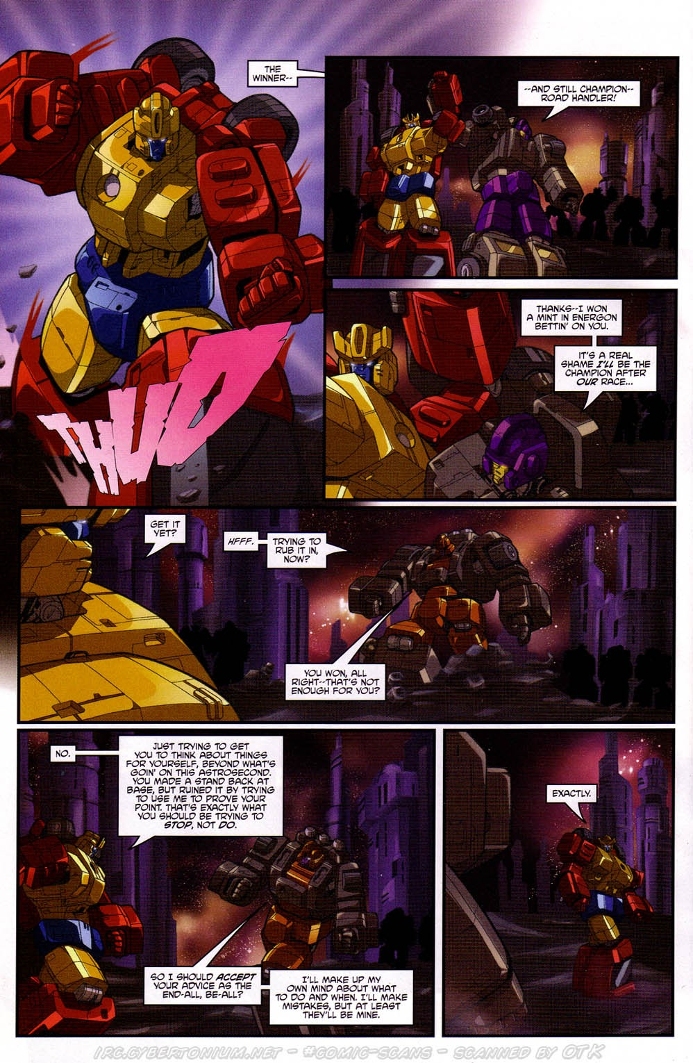 Read online Transformers: Micromasters comic -  Issue #2 - 22