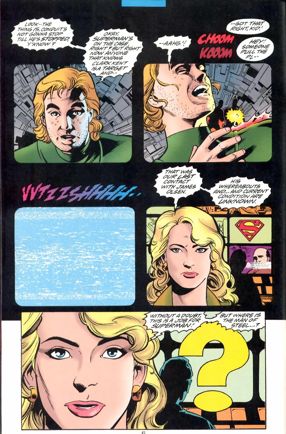 Read online Adventures of Superman (1987) comic -  Issue #524 - 7