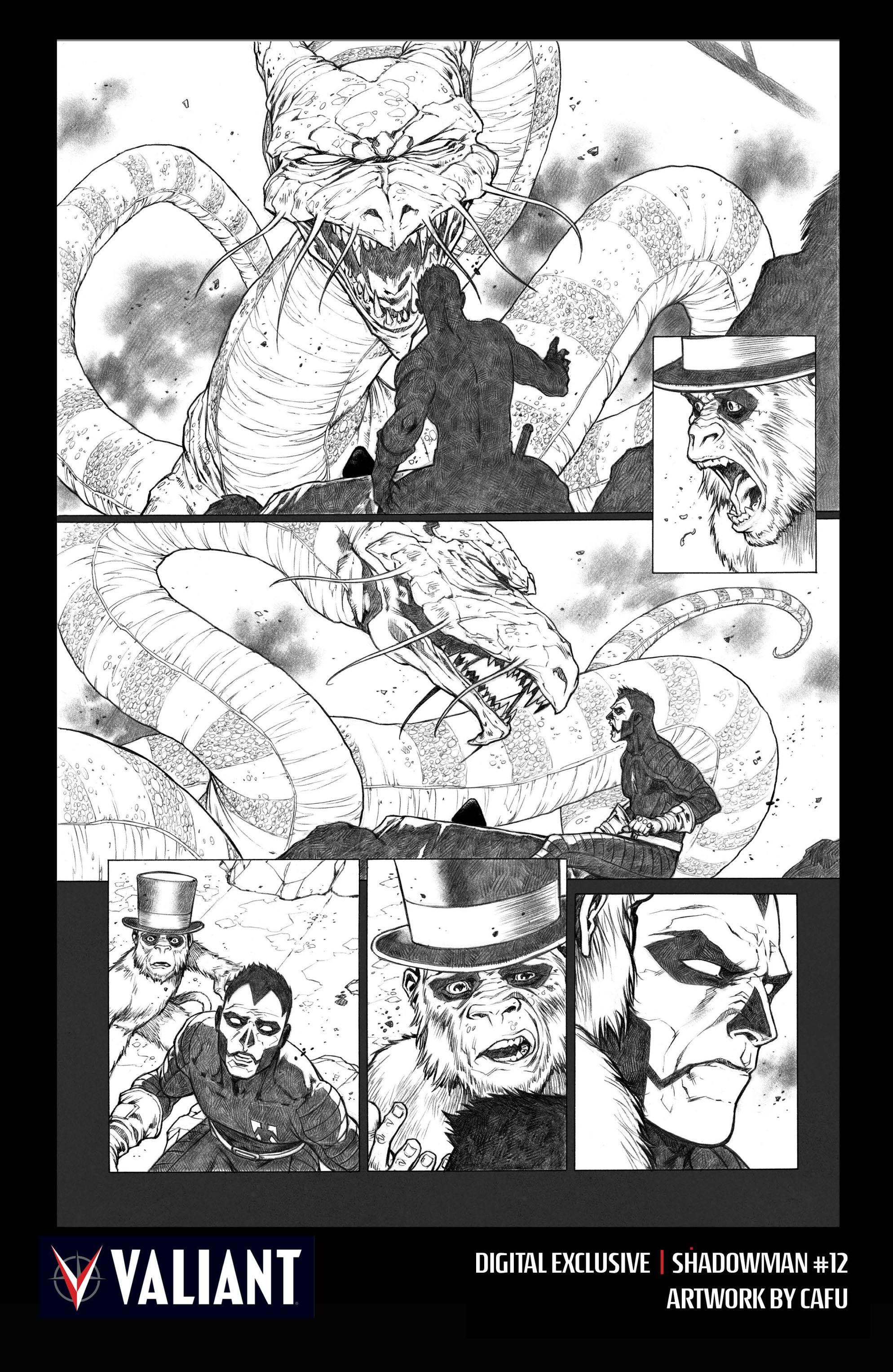 Read online Shadowman (2012) comic -  Issue #12 - 31