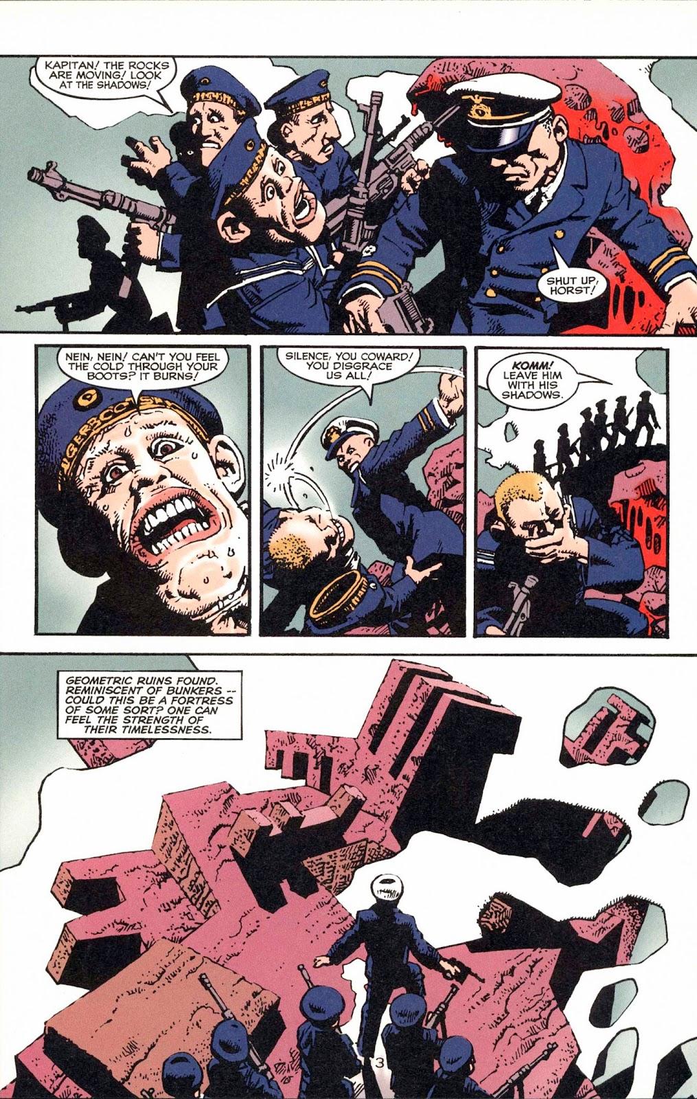 Read online Weird War Tales (1997) comic -  Issue #1 - 6