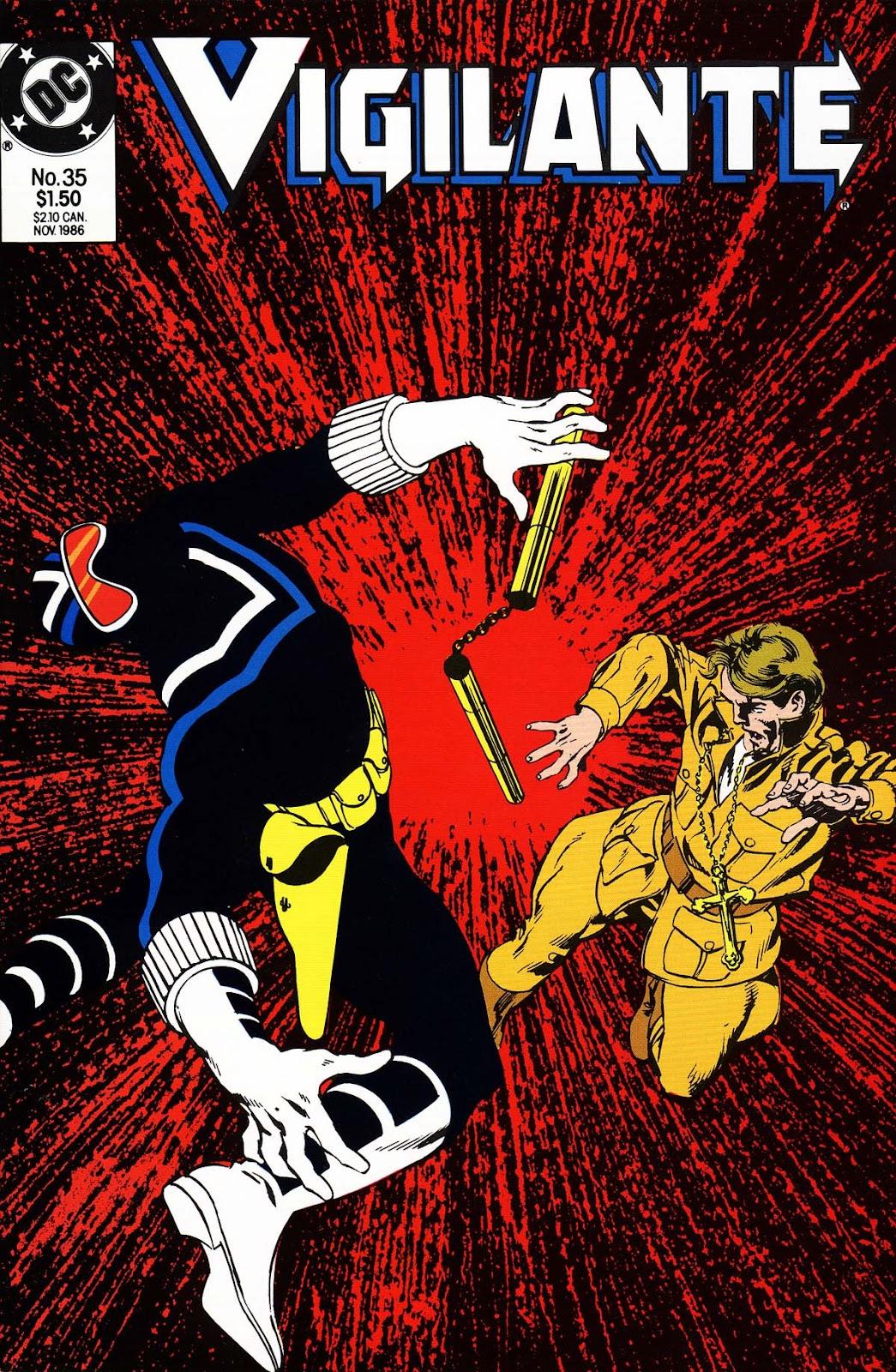 Vigilante (1983) issue 35 - Page 1
