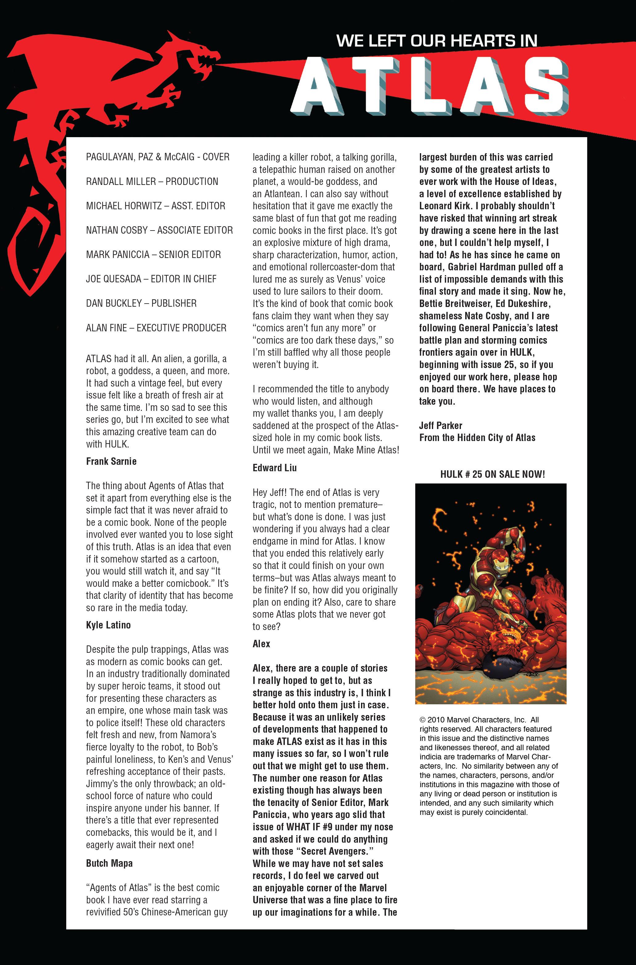 Read online Atlas comic -  Issue #5 - 27