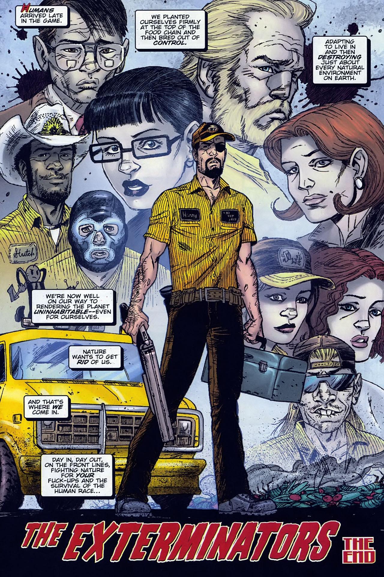 Read online The Exterminators comic -  Issue #30 - 24