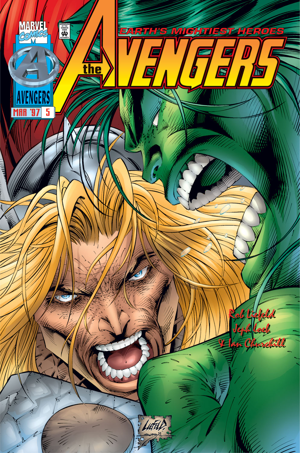 Read online Avengers (1996) comic -  Issue #5 - 1