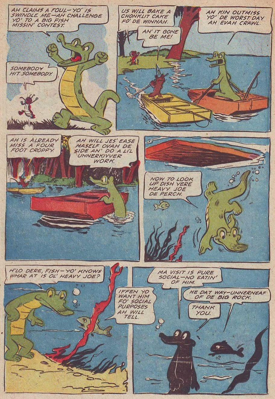 Read online Animal Comics comic -  Issue #30 - 22