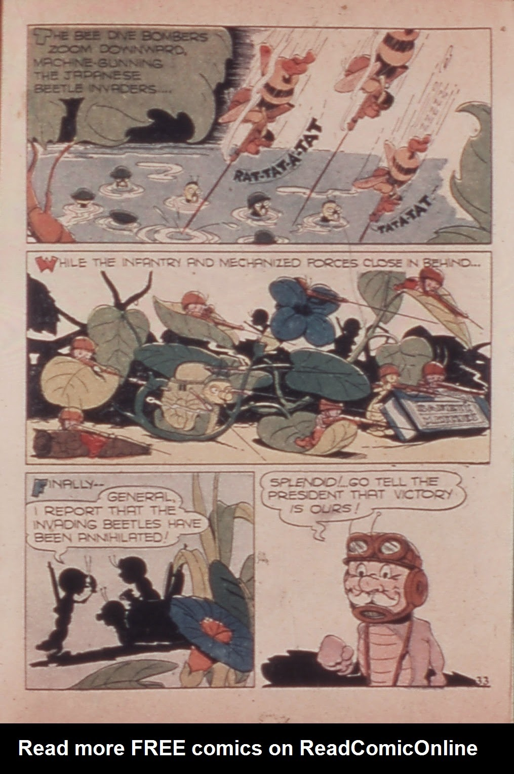 Read online Animal Comics comic -  Issue #6 - 35