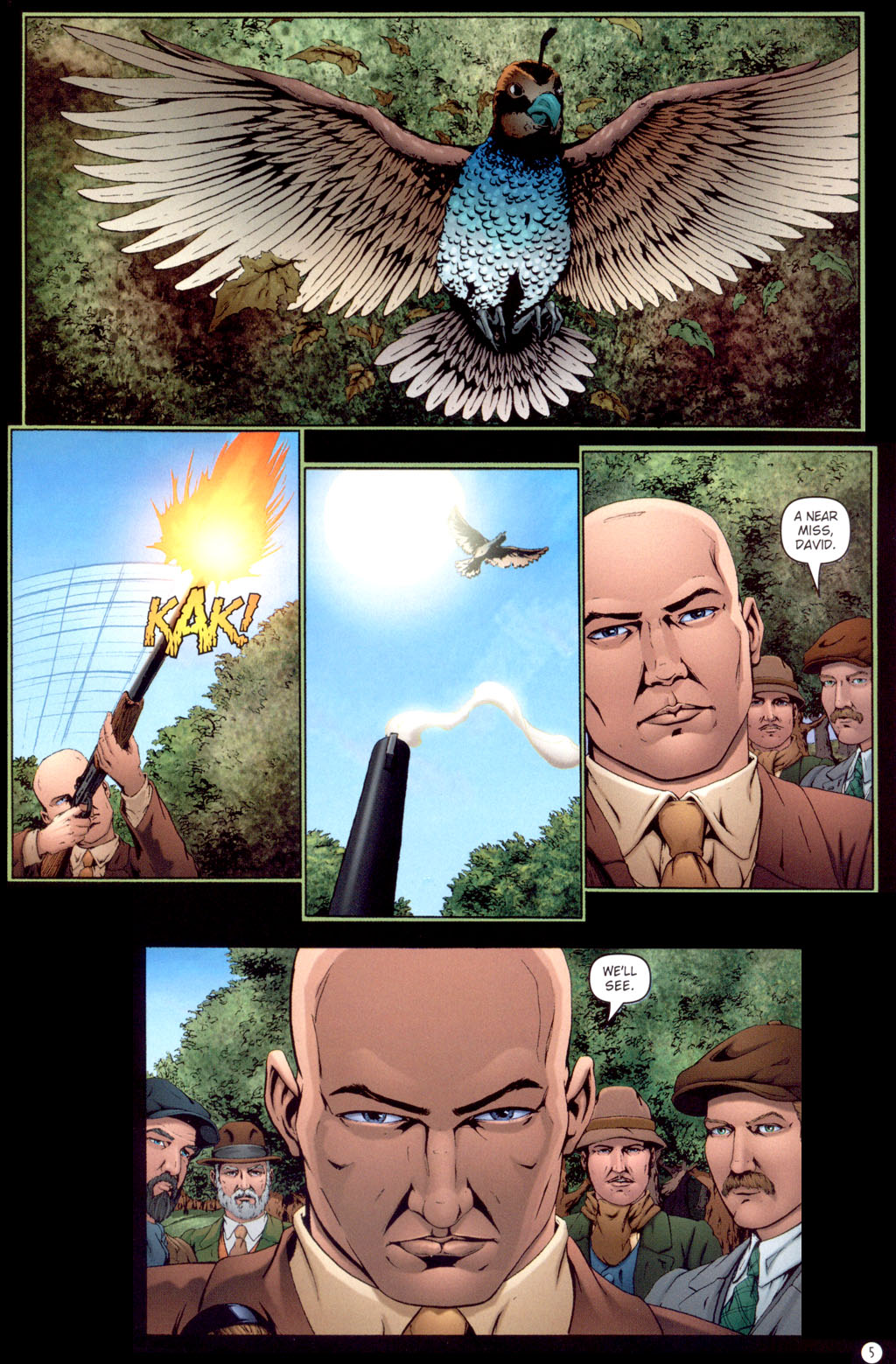 Read online Rex Mundi comic -  Issue #13 - 7