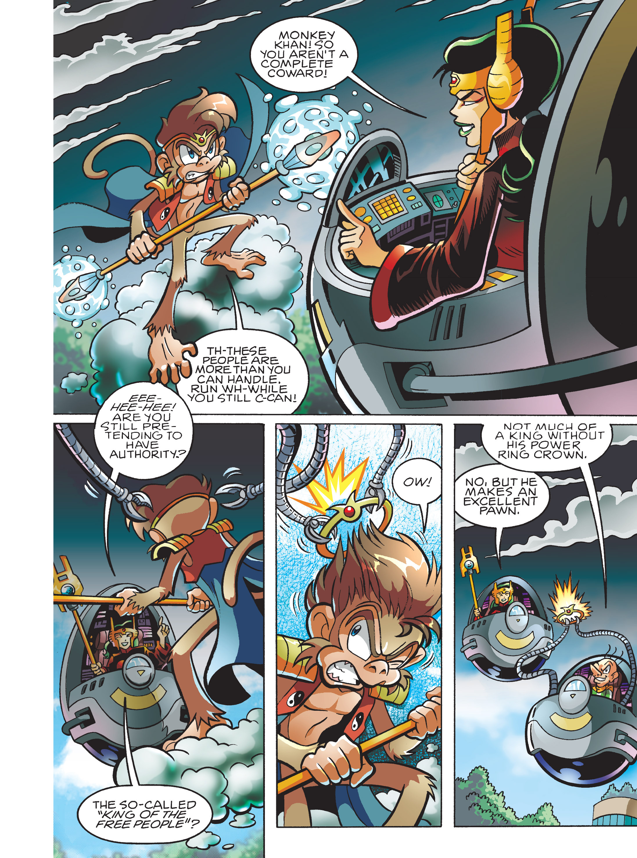 Read online Sonic Super Digest comic -  Issue #7 - 22