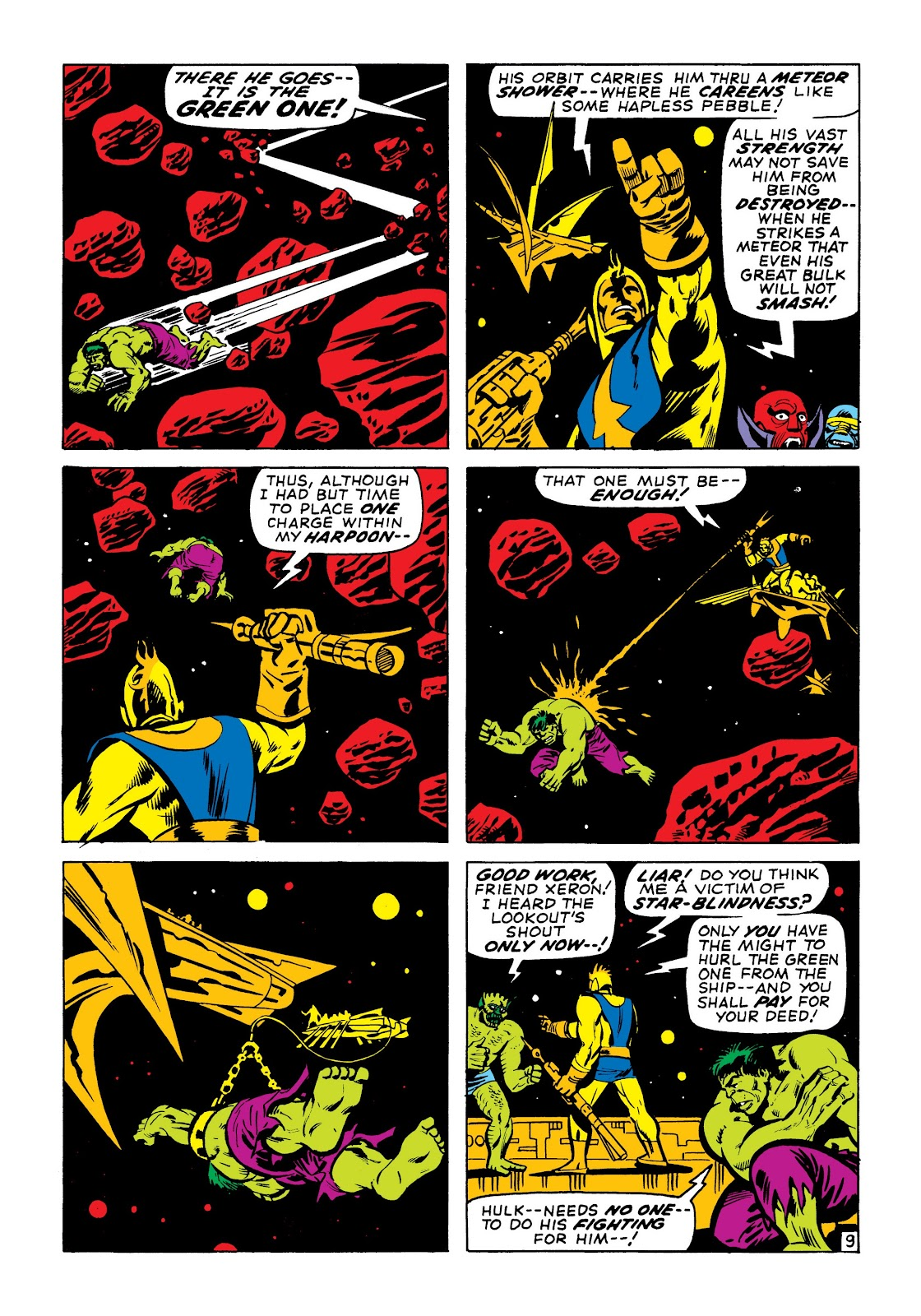Read online Marvel Masterworks: The Incredible Hulk comic -  Issue # TPB 7 (Part 1) - 56