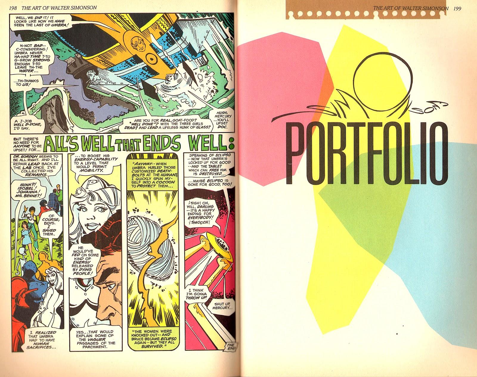 Read online The Art of Walter Simonson comic -  Issue # TPB - 101
