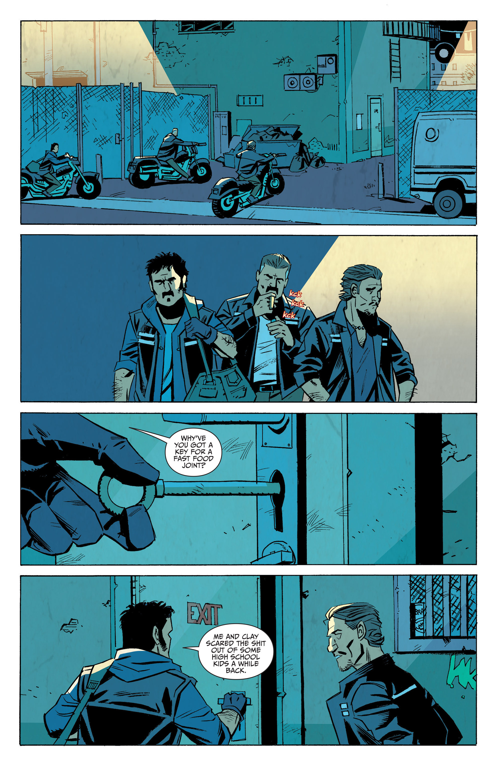 Read online Sons of Anarchy: Redwood Original comic -  Issue #7 - 20
