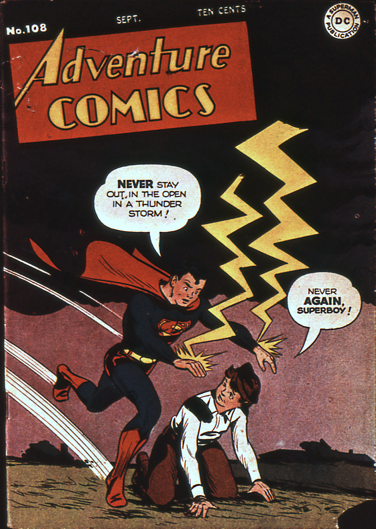 Read online Adventure Comics (1938) comic -  Issue #108 - 1
