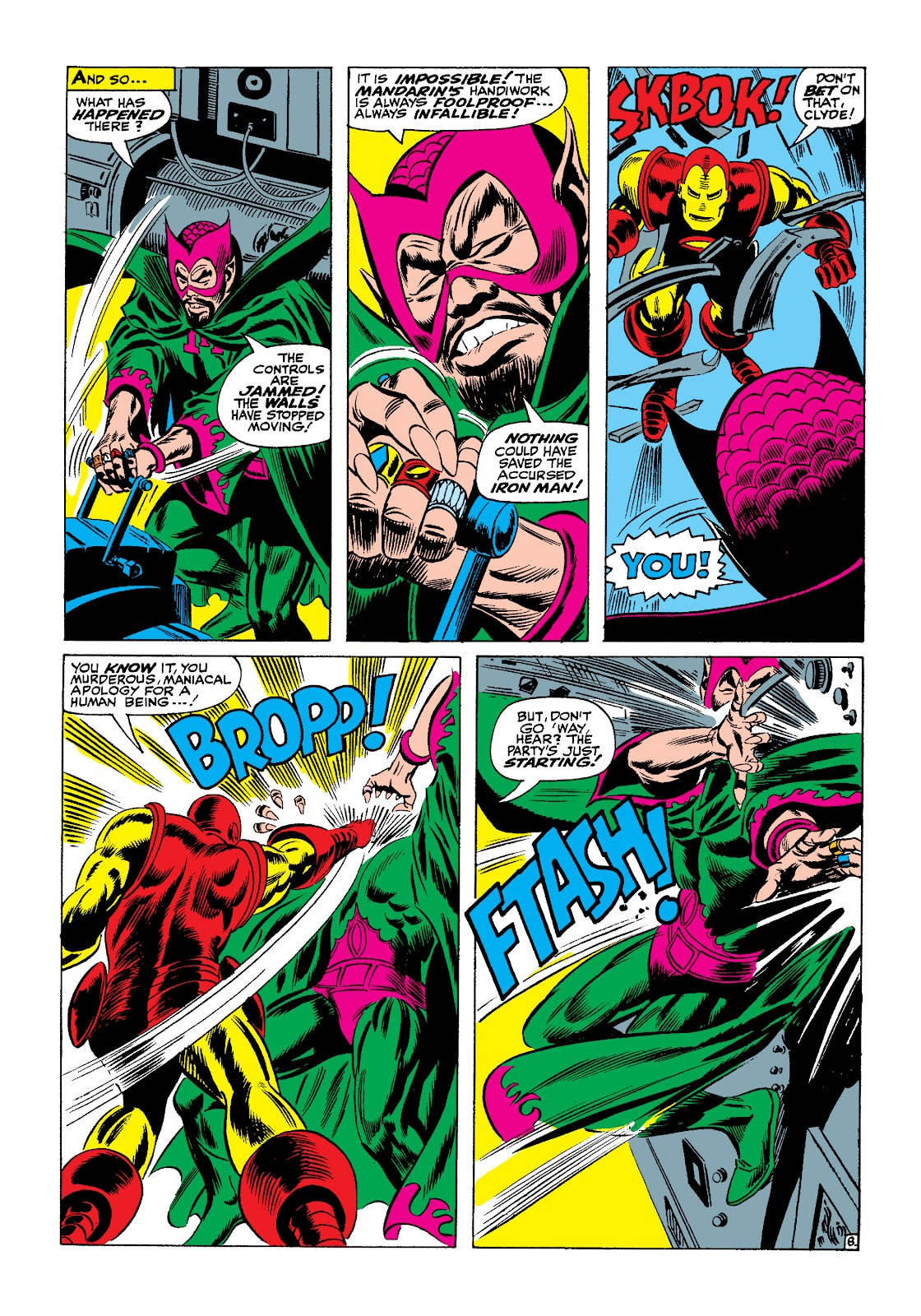 Read online Marvel Masterworks: The Invincible Iron Man comic -  Issue # TPB 4 (Part 1) - 40