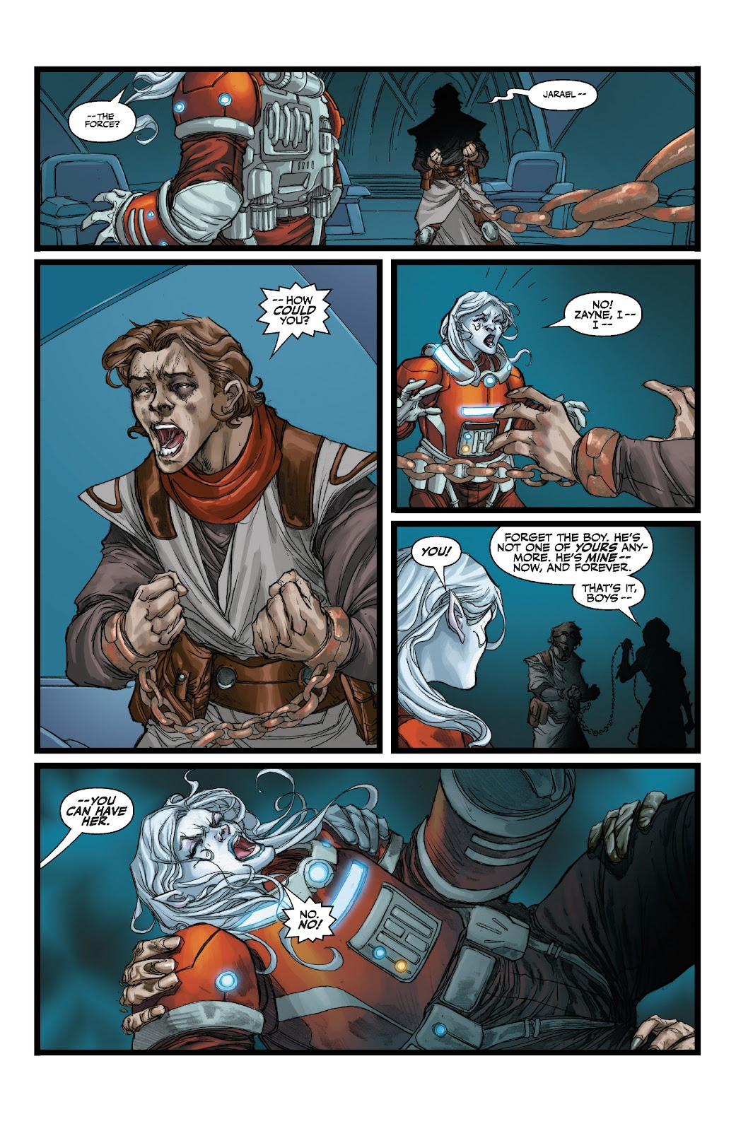 Read online Star Wars Legends: The Old Republic - Epic Collection comic -  Issue # TPB 3 (Part 1) - 64