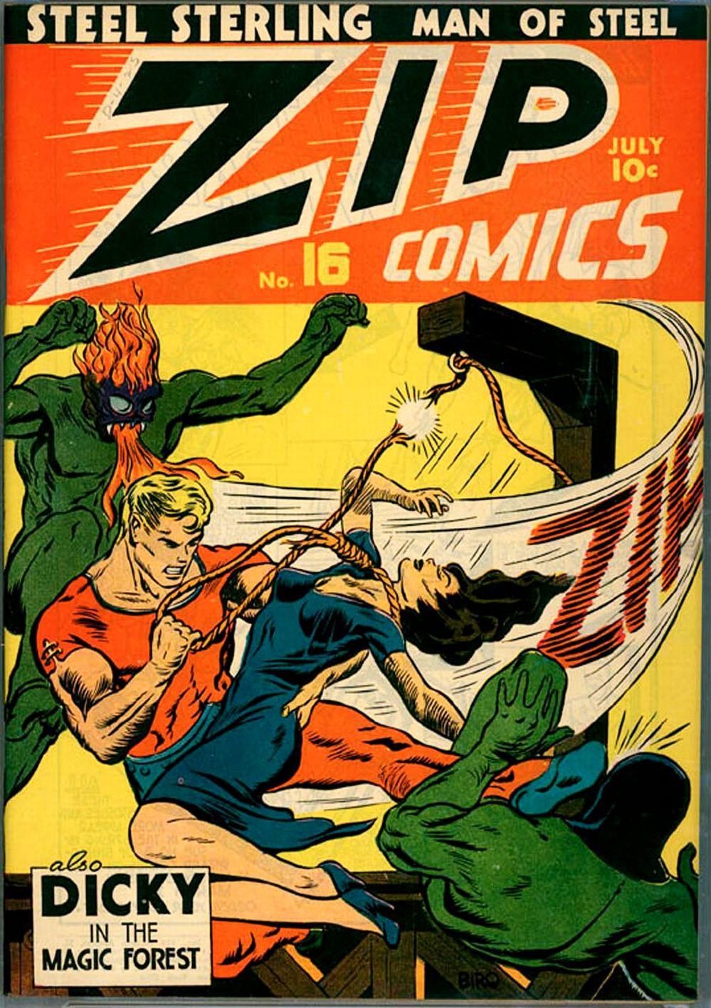 Zip Comics 16 Page 1