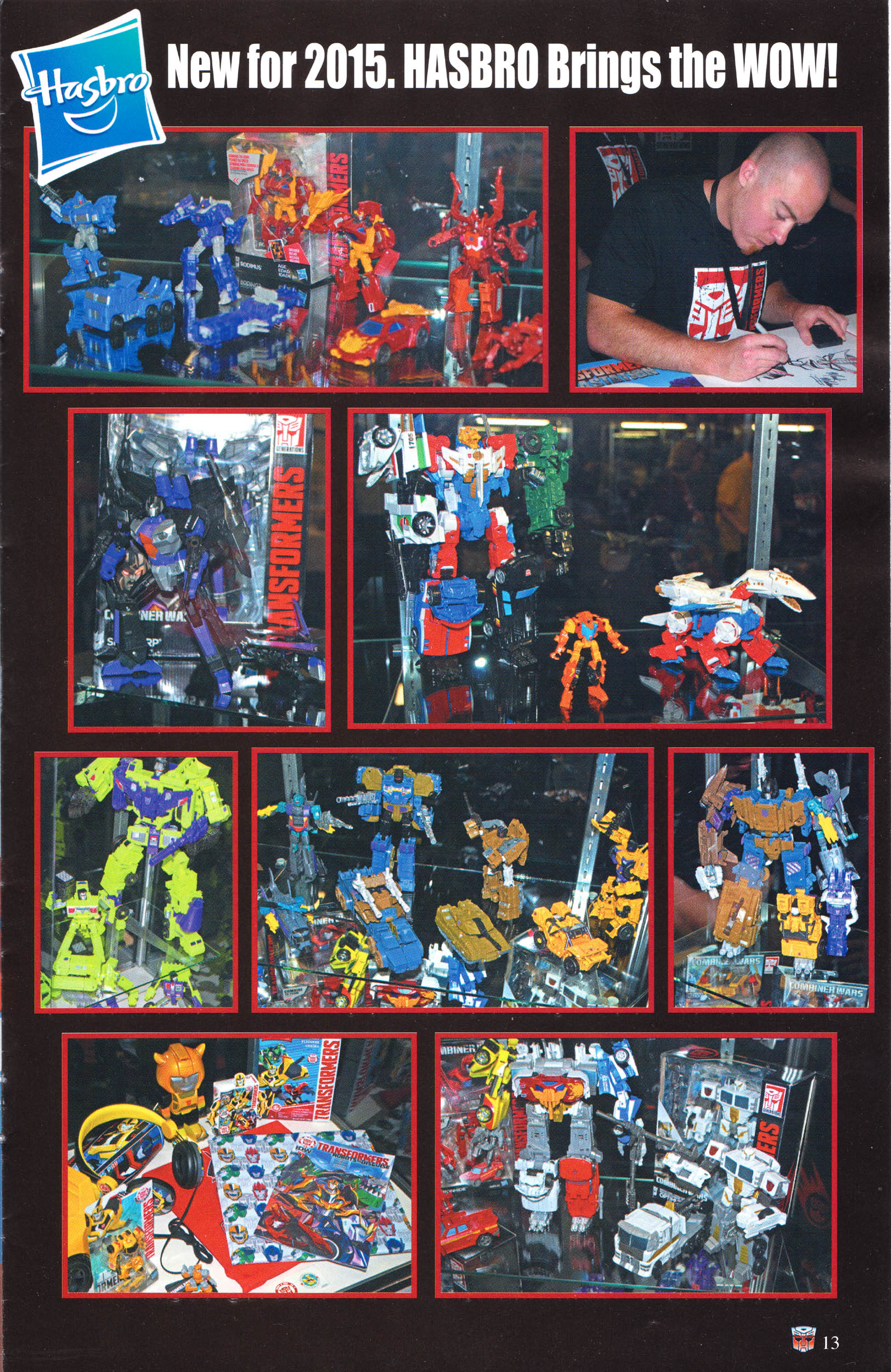 Read online Transformers: Collectors' Club comic -  Issue #64 - 13