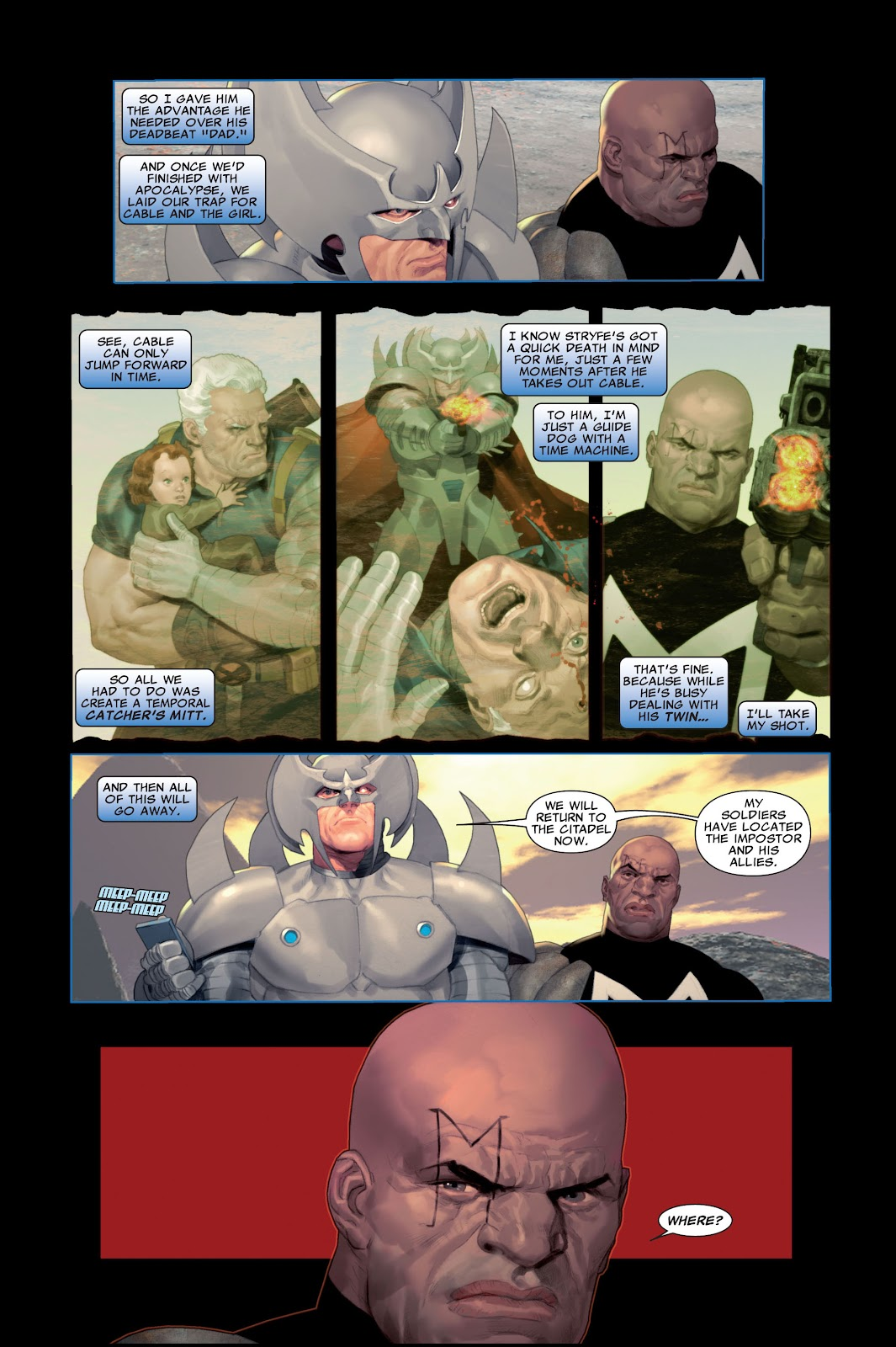 Read online X-Force/Cable: Messiah War comic -  Issue # _TPB (Part 2) - 9