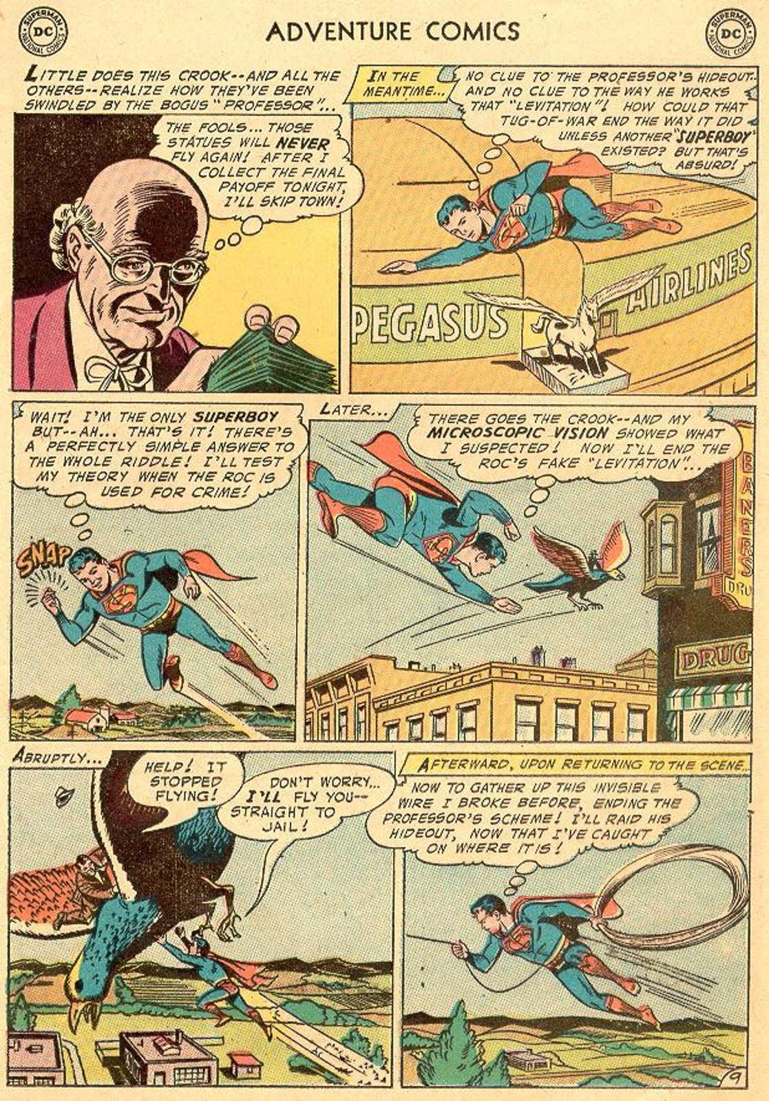 Read online Adventure Comics (1938) comic -  Issue #226 - 11