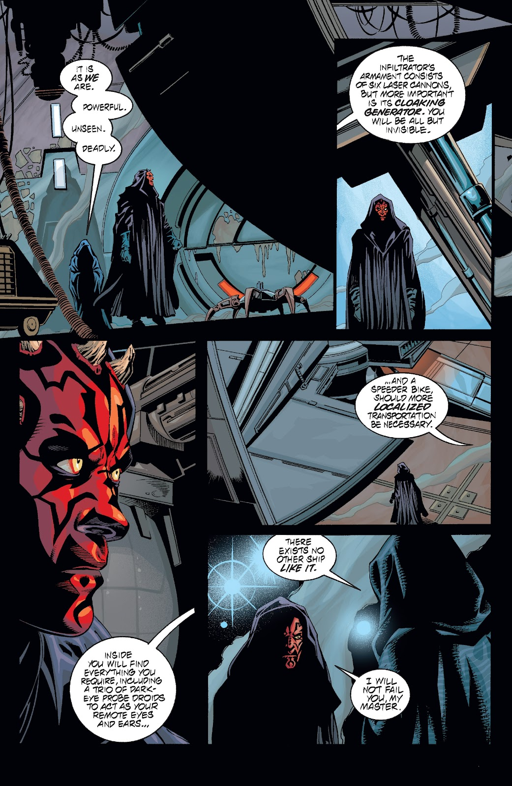 Read online Star Wars Legends: Rise of the Sith - Epic Collection comic -  Issue # TPB 2 (Part 2) - 57