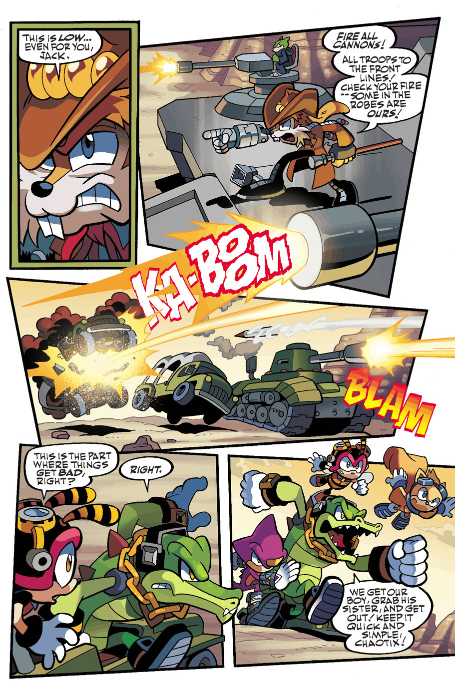 Read online Sonic Universe comic -  Issue #49 - 8