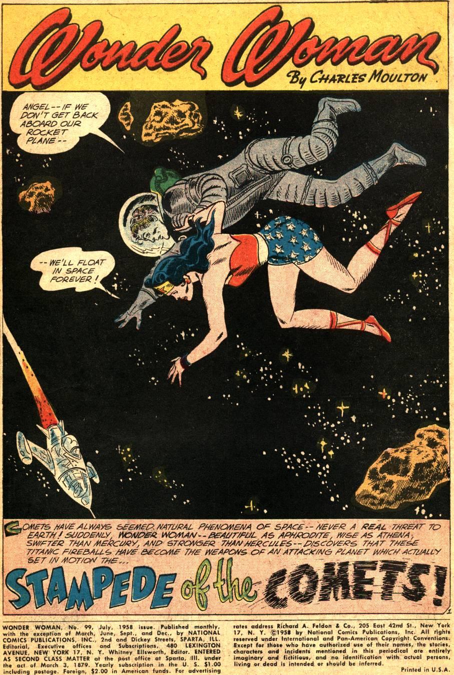 Read online Wonder Woman (1942) comic -  Issue #99 - 3