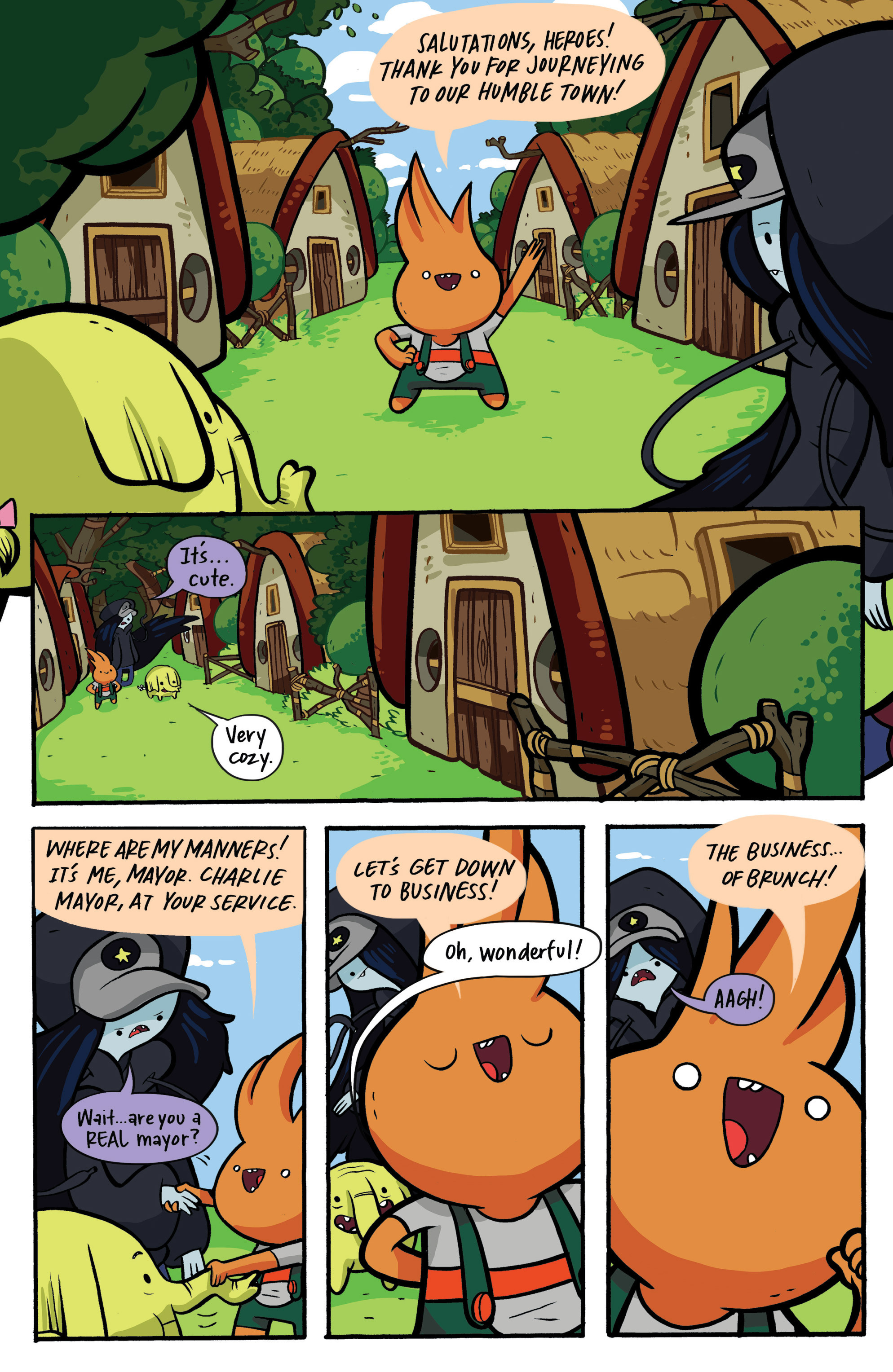 Read online Adventure Time: Candy Capers comic -  Issue #2 - 10