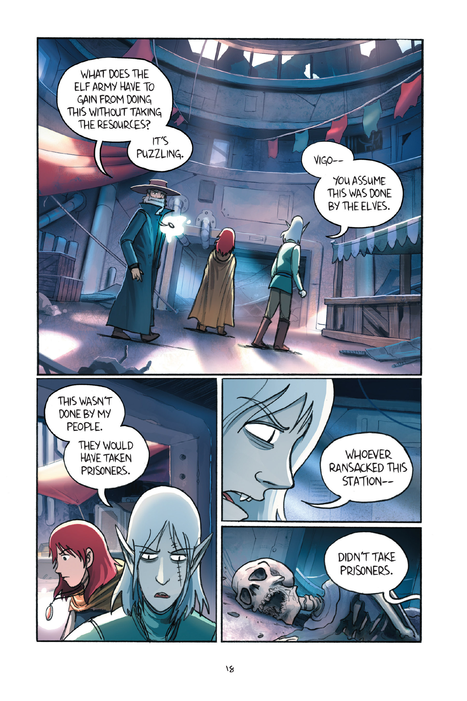 Read online Amulet comic -  Issue #7 - 21