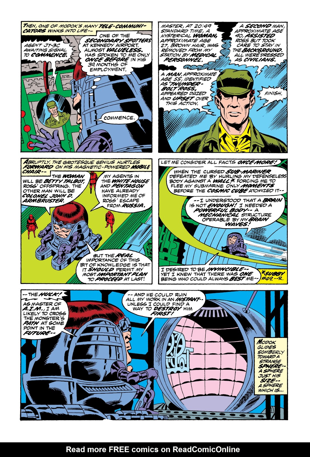 Read online Marvel Masterworks: The Incredible Hulk comic -  Issue # TPB 9 (Part 3) - 24