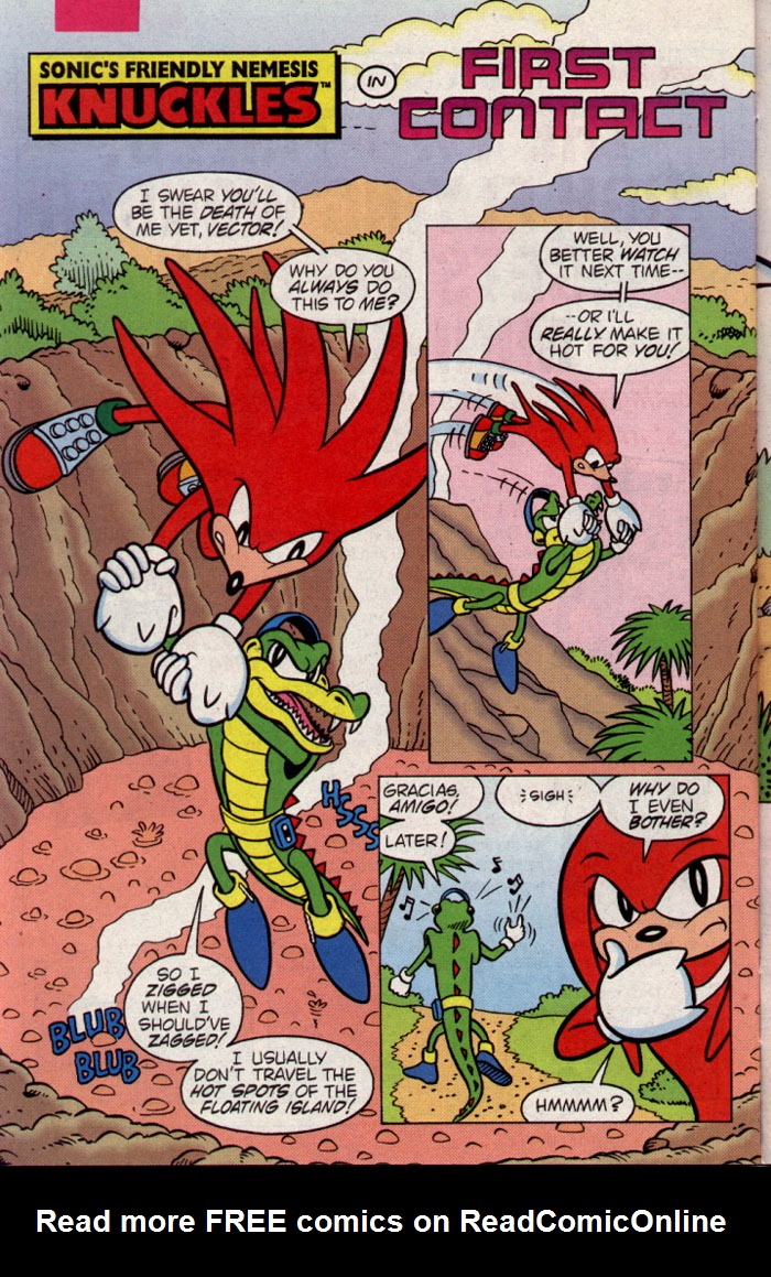 Read online Sonic The Hedgehog Triple Trouble Special comic -  Issue # Full - 32