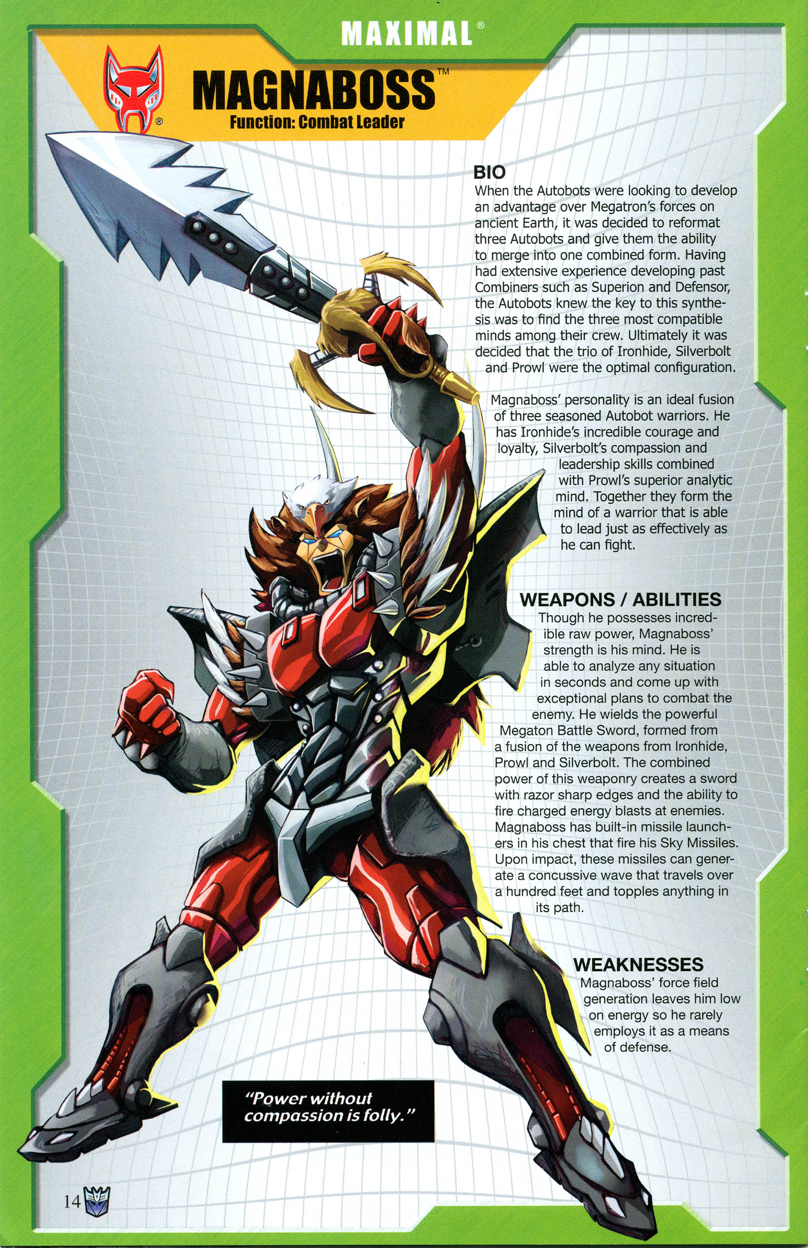 Read online Transformers: Collectors' Club comic -  Issue #53 - 14