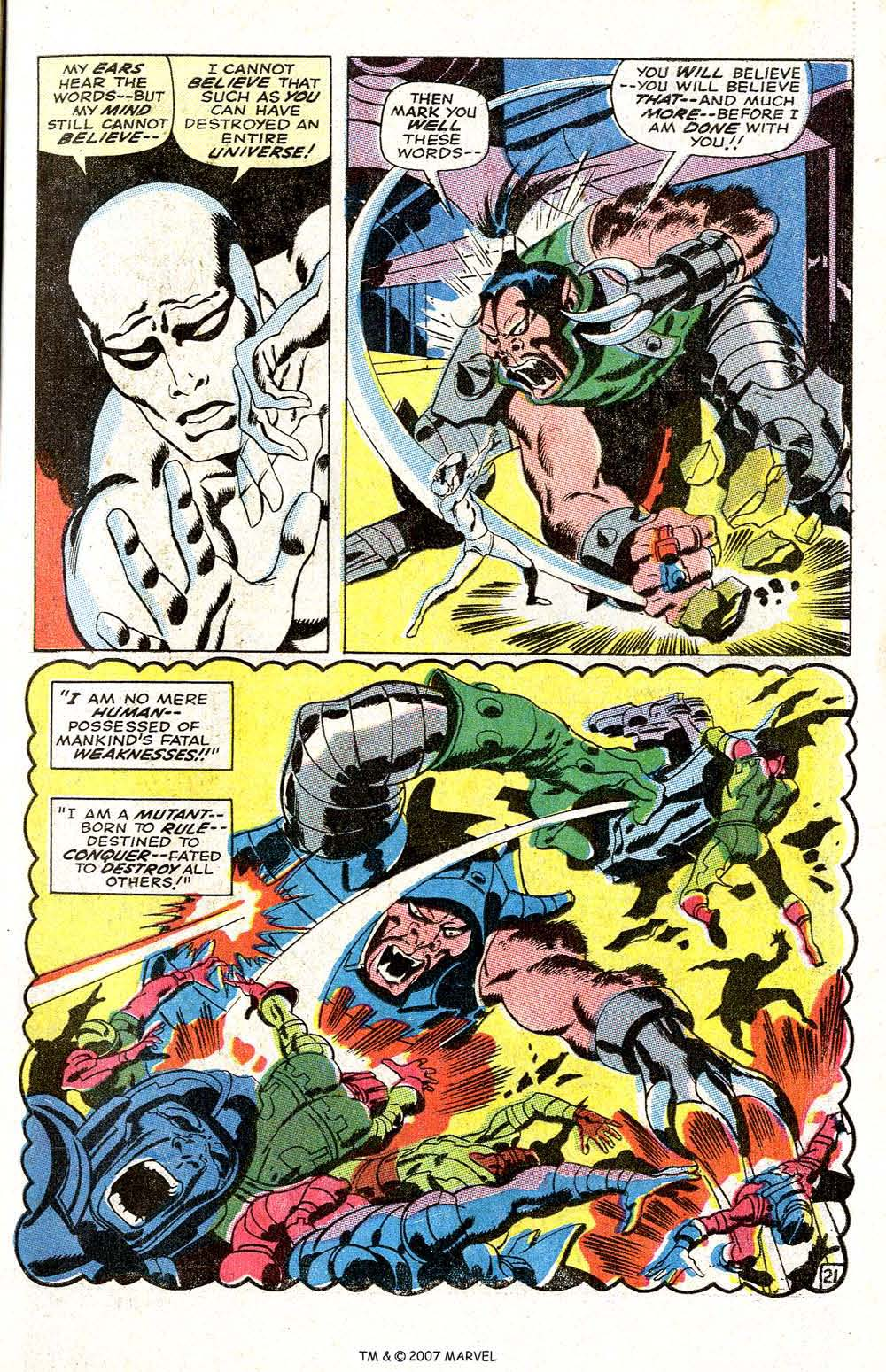 Read online Silver Surfer (1968) comic -  Issue #6 - 27