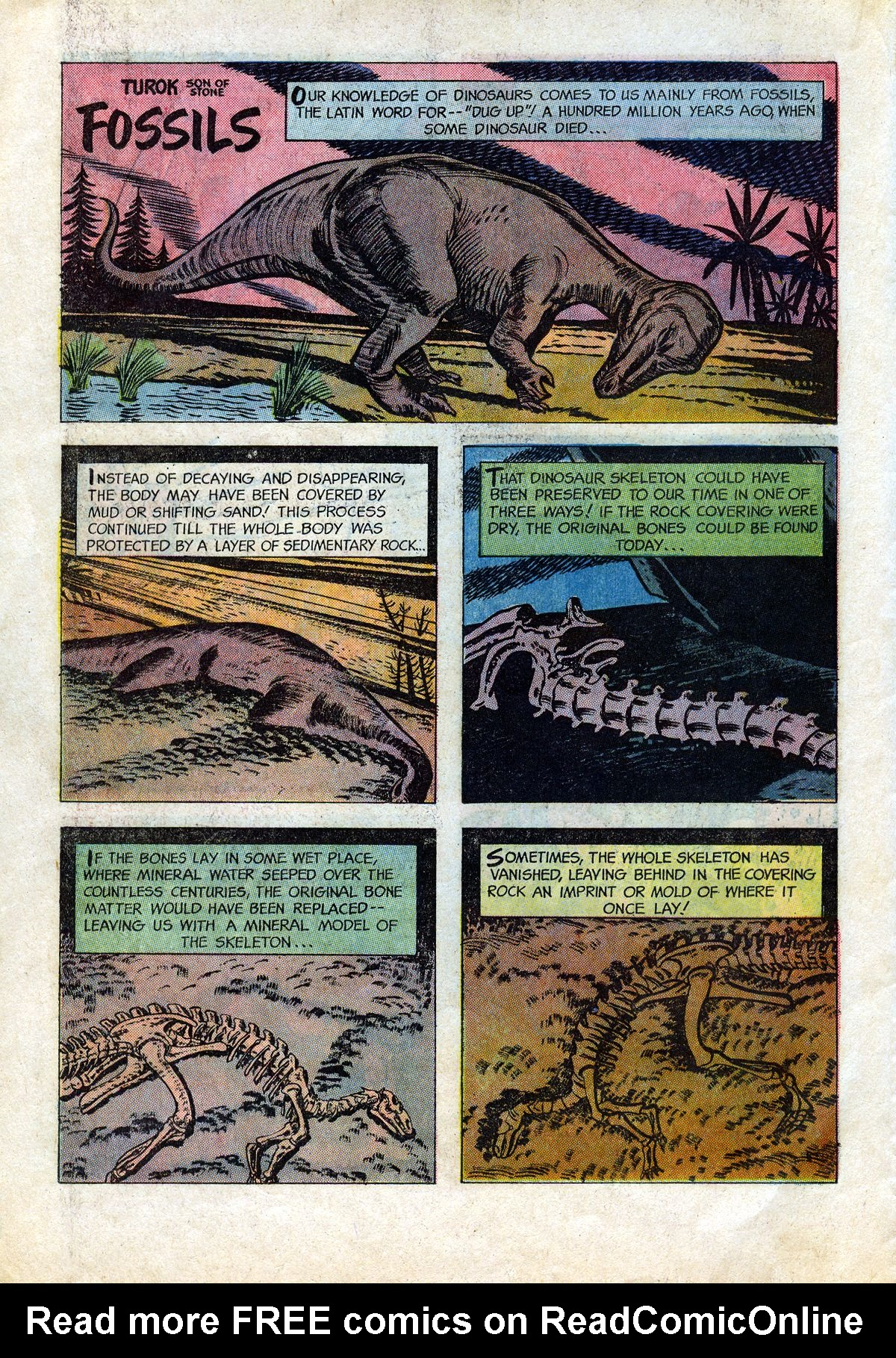 Read online Turok, Son of Stone comic -  Issue #45 - 18