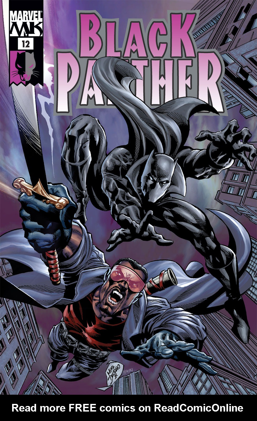 Black Panther (2005) 12 Page 1