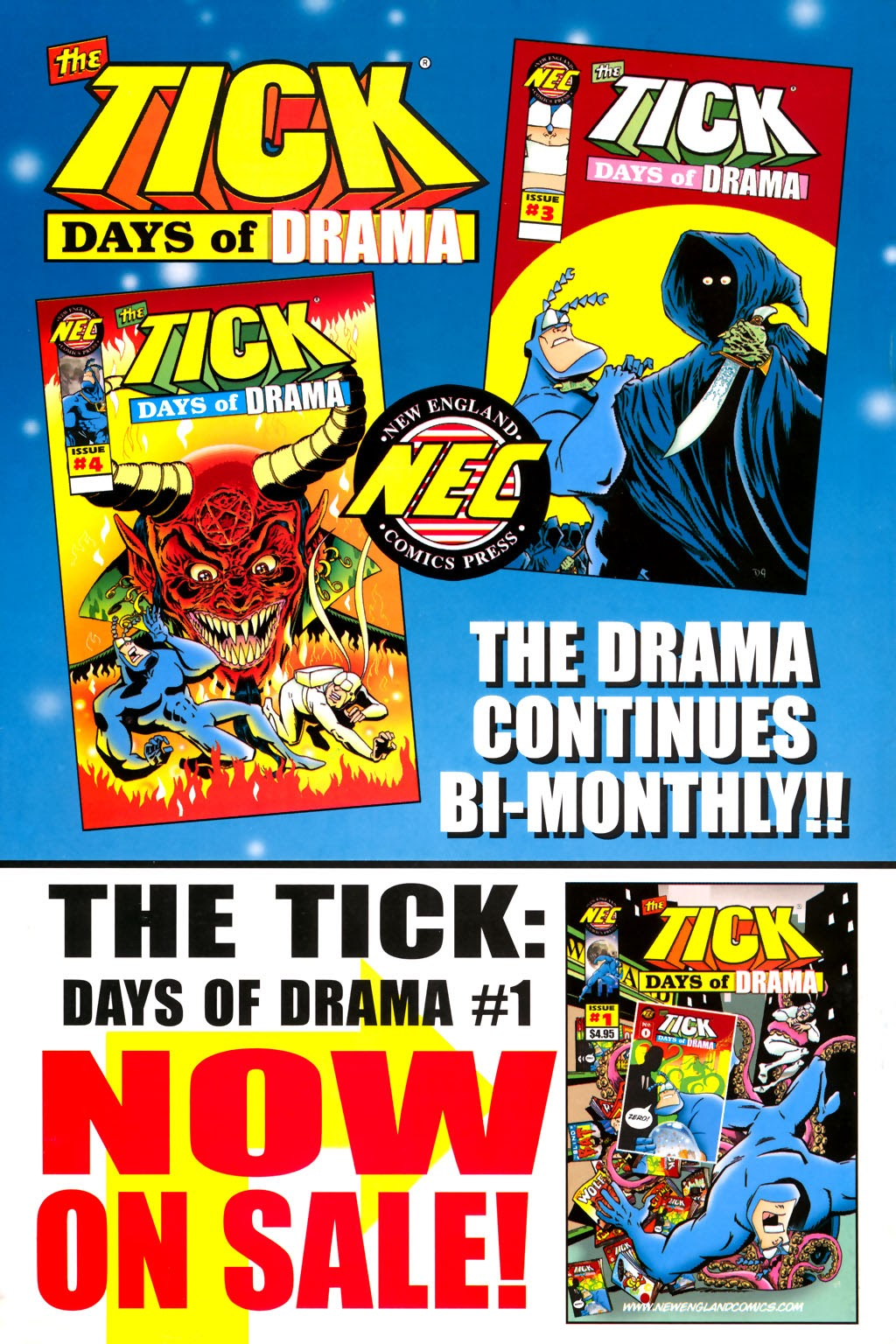 Read online The Tick: Days of Drama comic -  Issue #2 - 31
