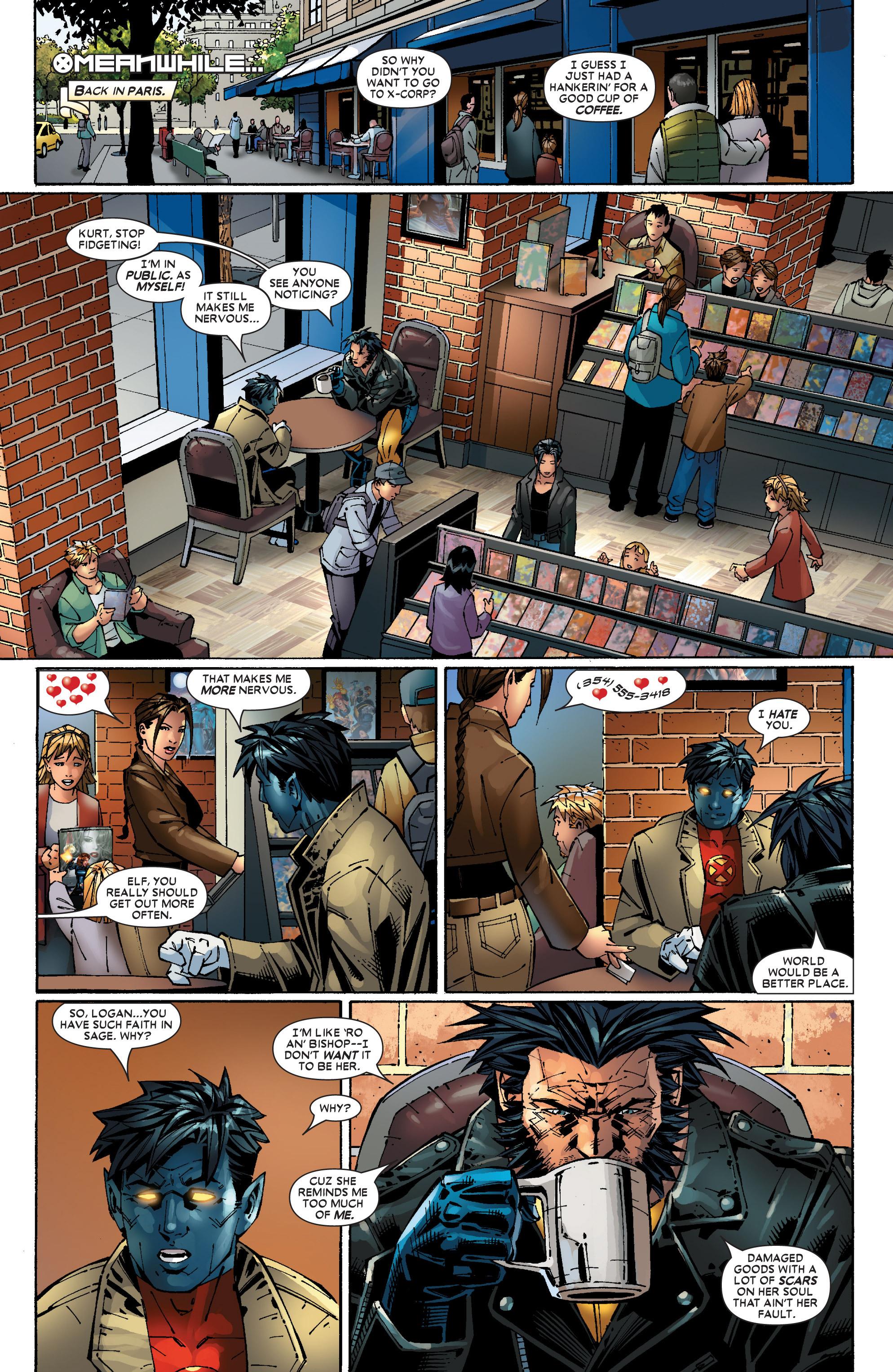 Read online Uncanny X-Men (1963) comic -  Issue #453 - 14