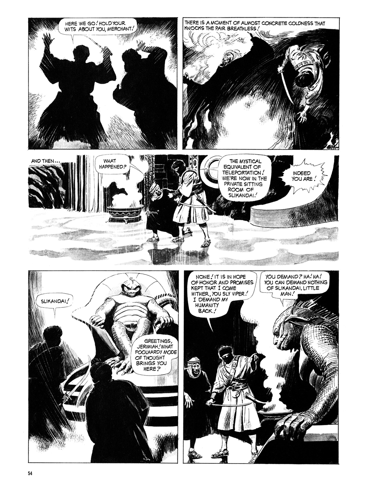 Read online Eerie Archives comic -  Issue # TPB 10 - 55