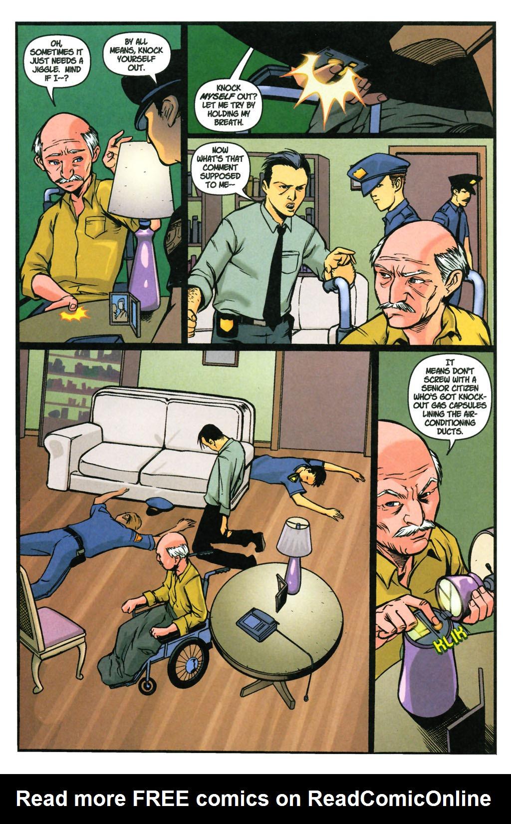 Read online SpyBoy: Final Exam comic -  Issue #3 - 13