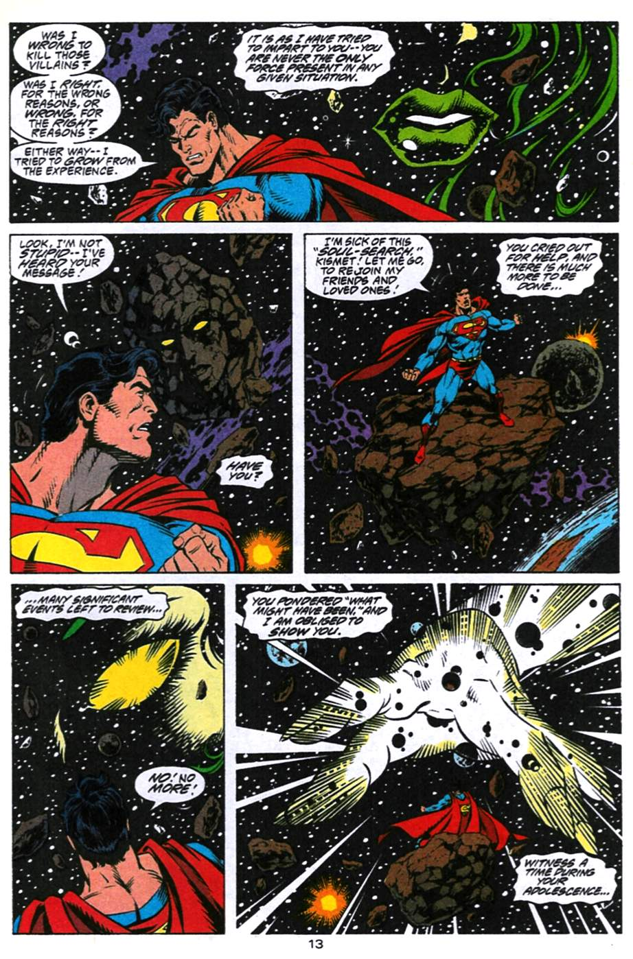 Read online Adventures of Superman (1987) comic -  Issue #494 - 14