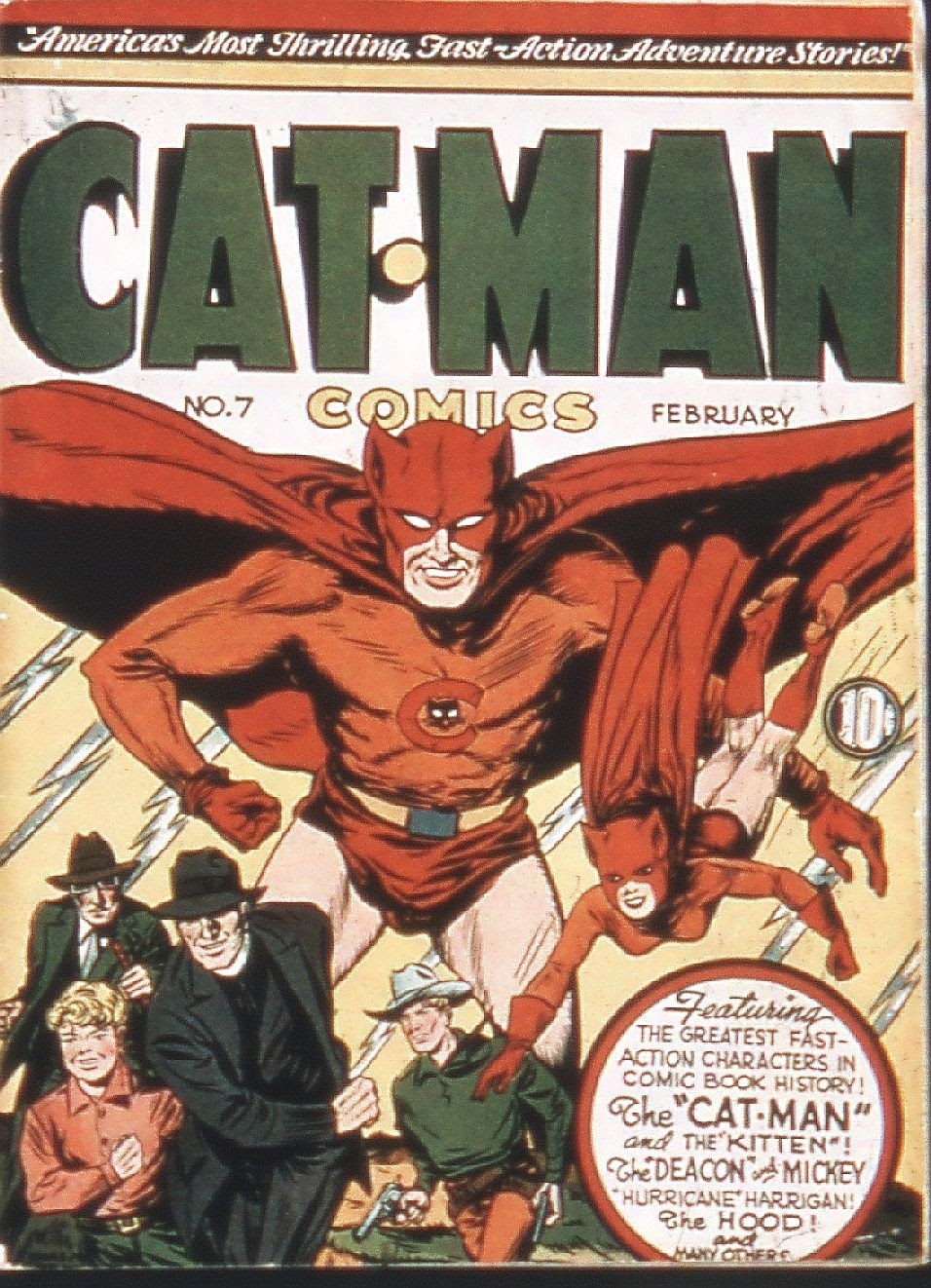 Cat-Man Comics 7 Page 1
