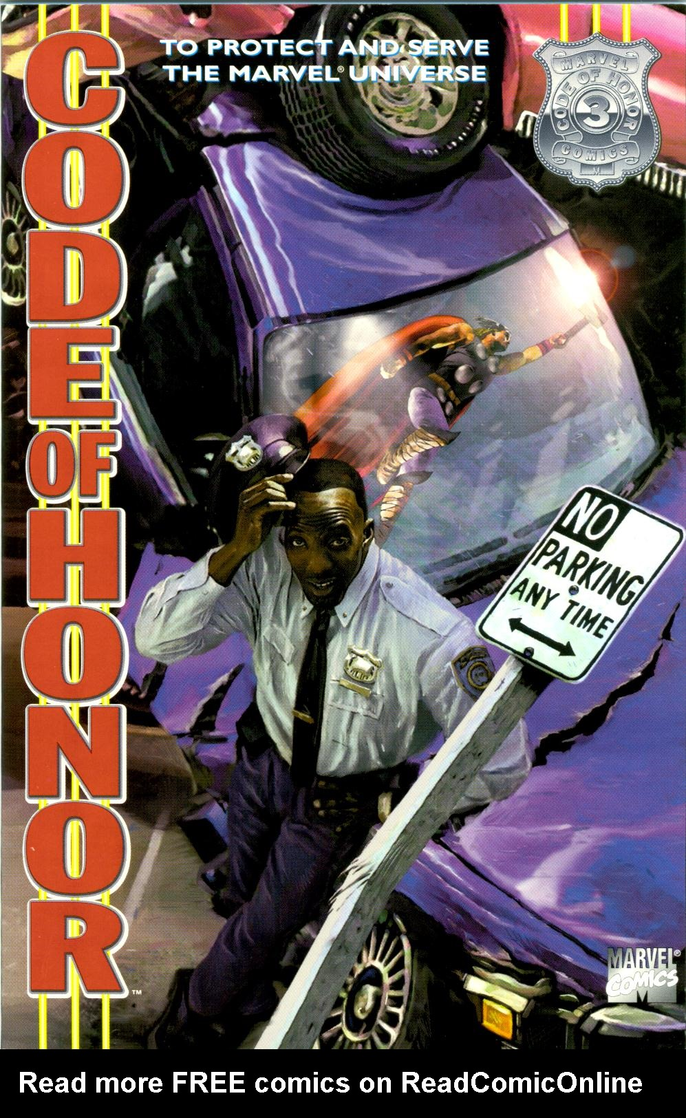 Read online Code of Honor comic -  Issue #3 - 1