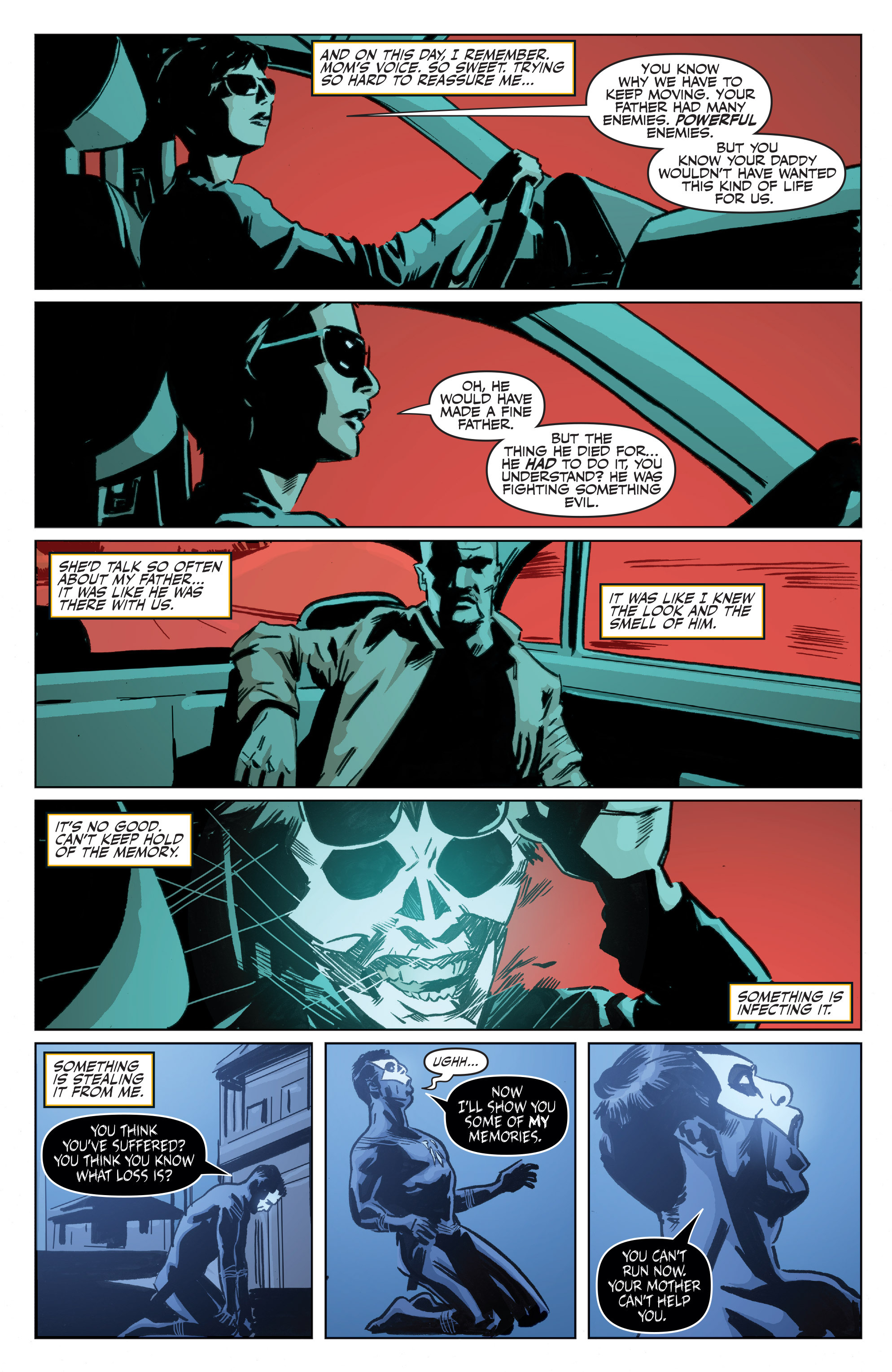 Read online Shadowman: End Times comic -  Issue #1 - 14