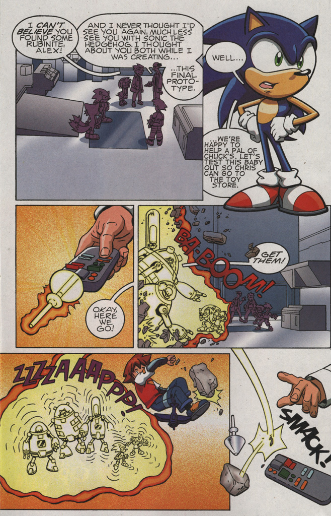 Read online Sonic X comic -  Issue #21 - 8