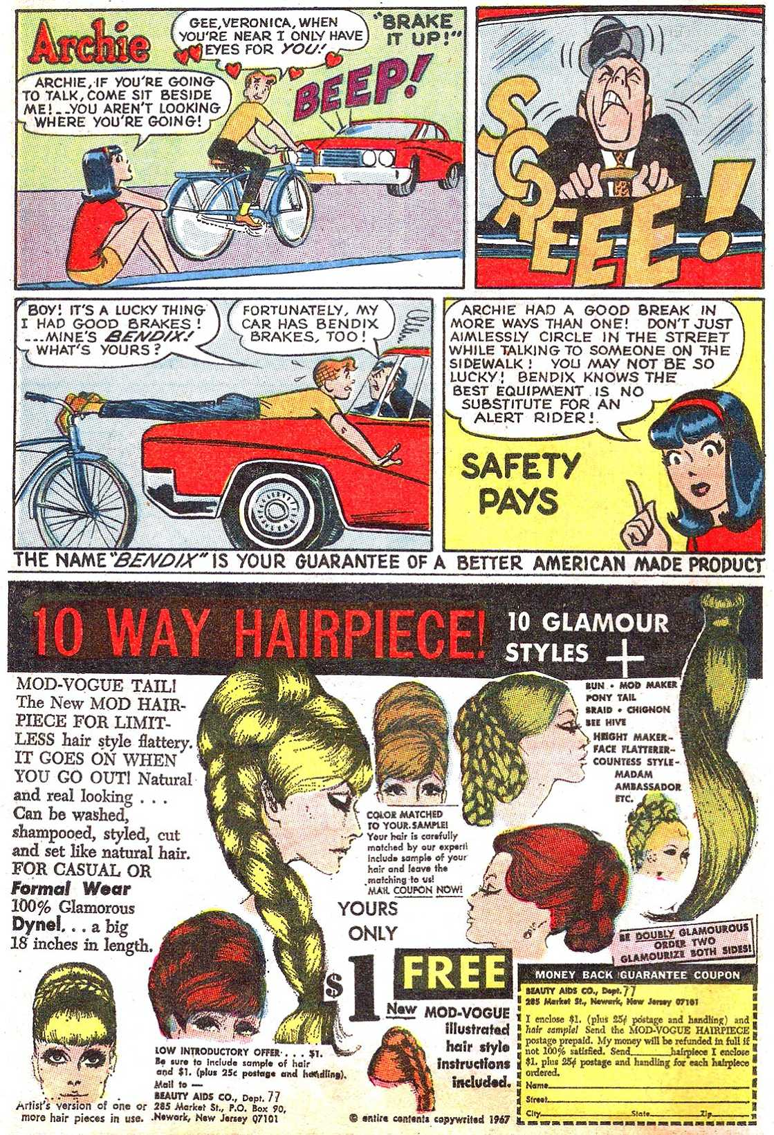Read online Archie (1960) comic -  Issue #185 - 12